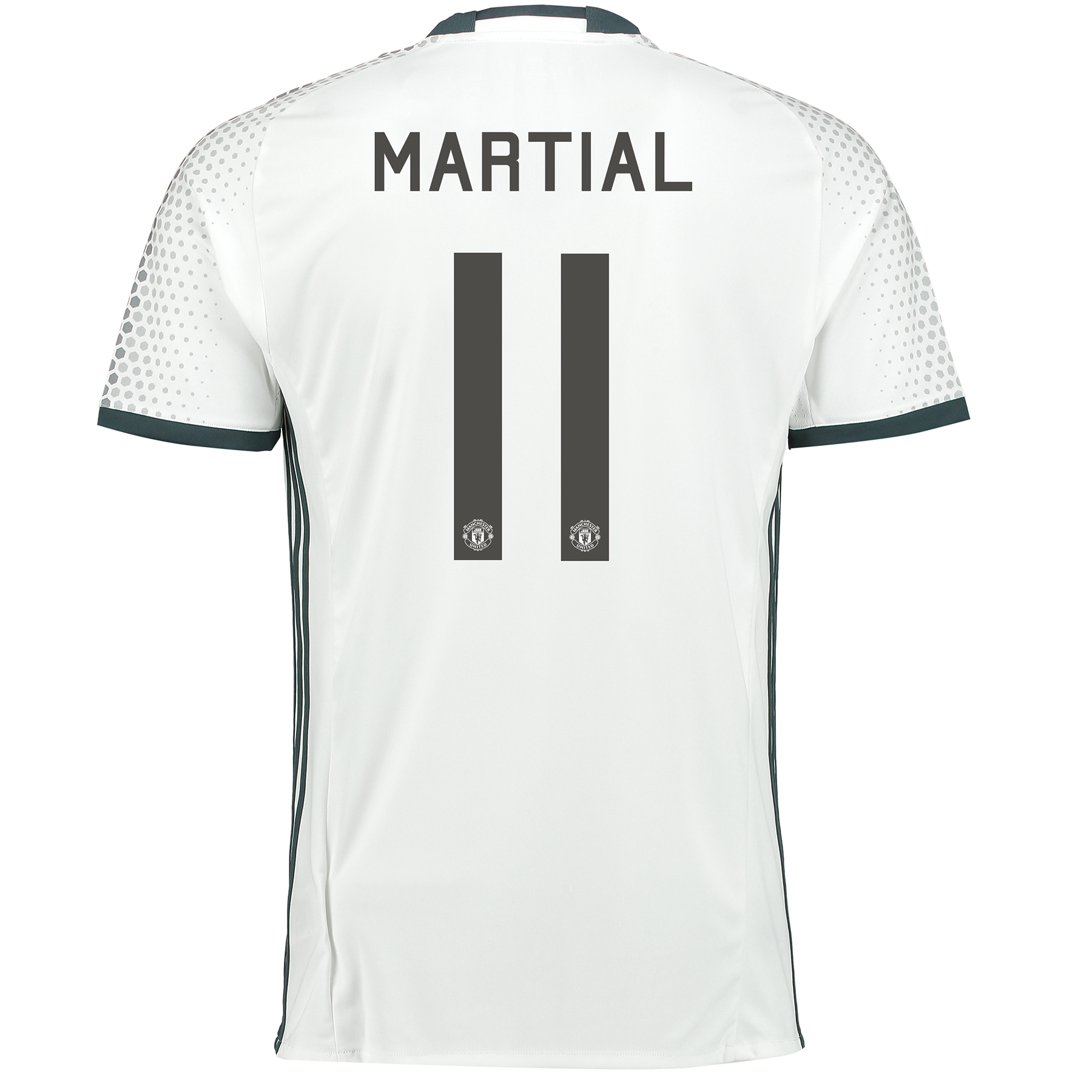 Manchester United Cup Third Shirt 2016-17 with Martial 11 printing