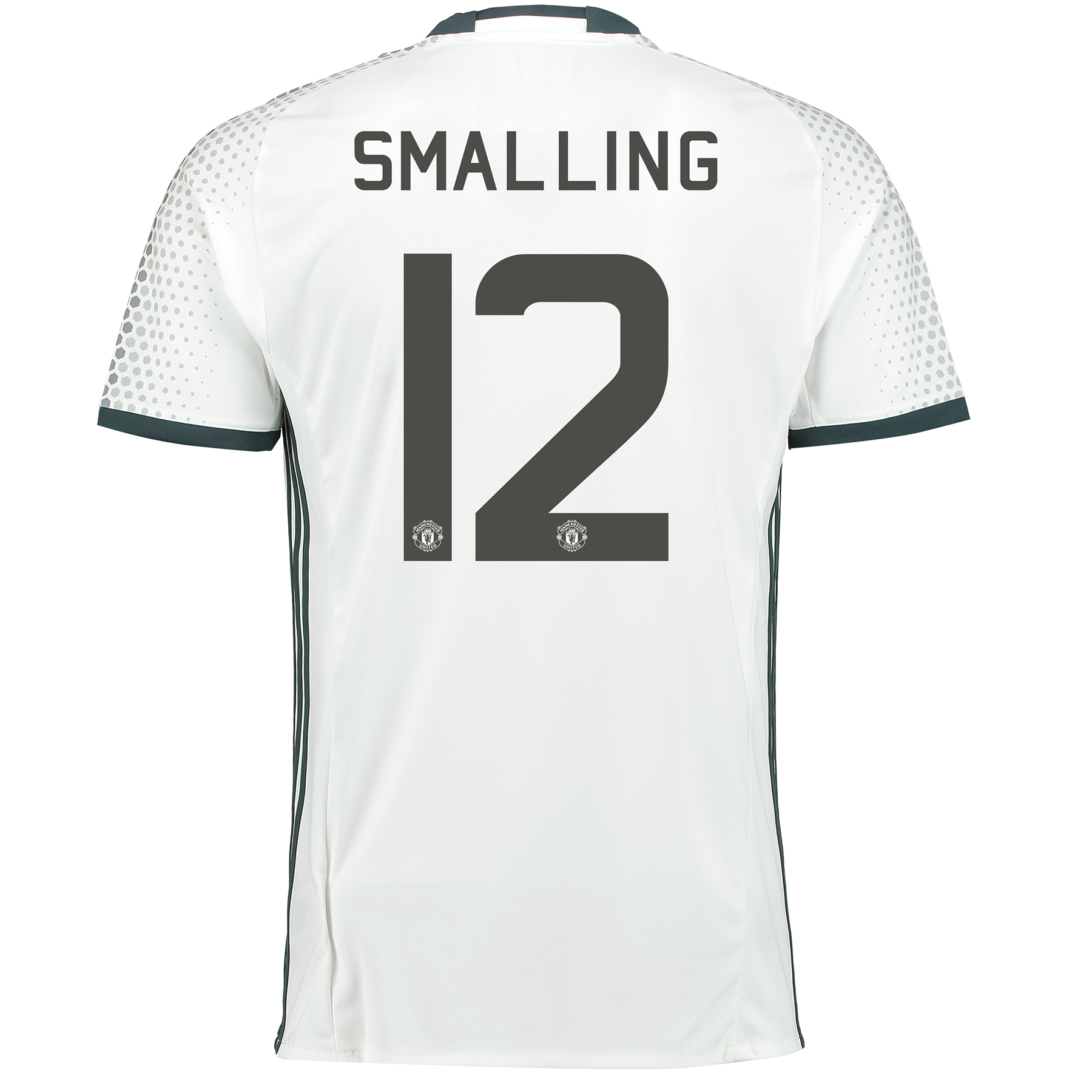 Manchester United Cup Third Shirt 2016-17 with Smalling 12 printing