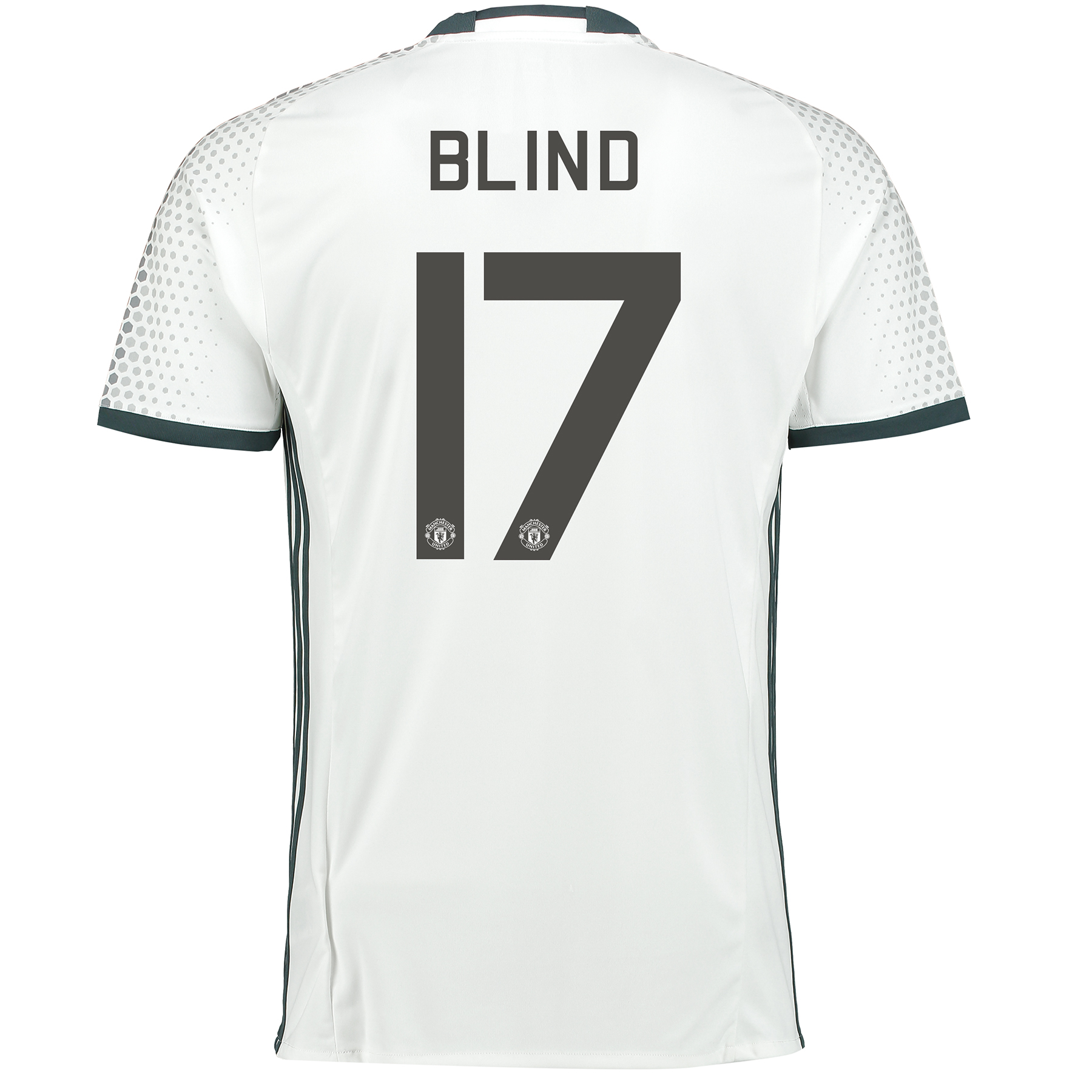 Manchester United Cup Third Shirt 2016-17 with Blind 17 printing