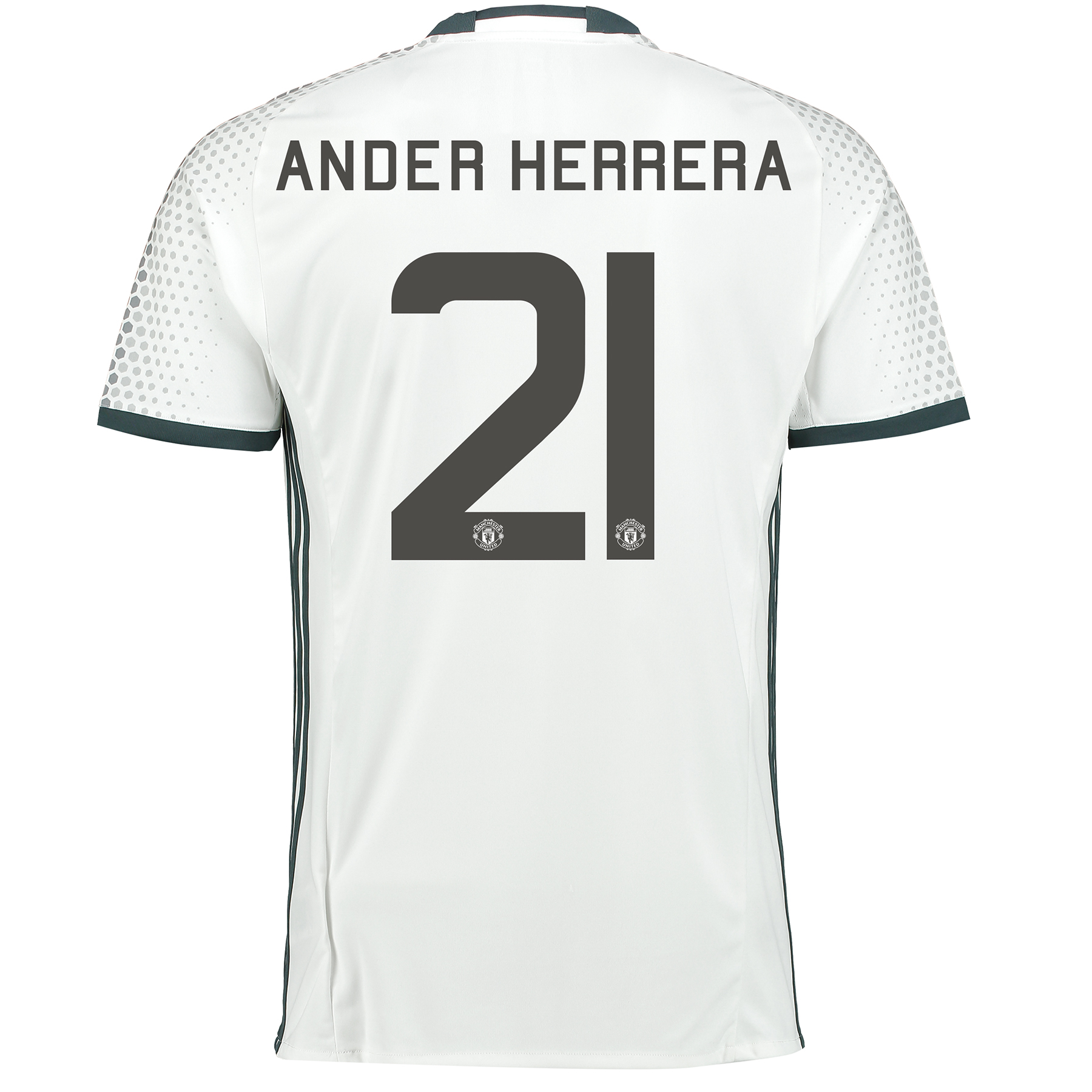 Manchester United Cup Third Shirt 2016-17 with Herrera 21 printing