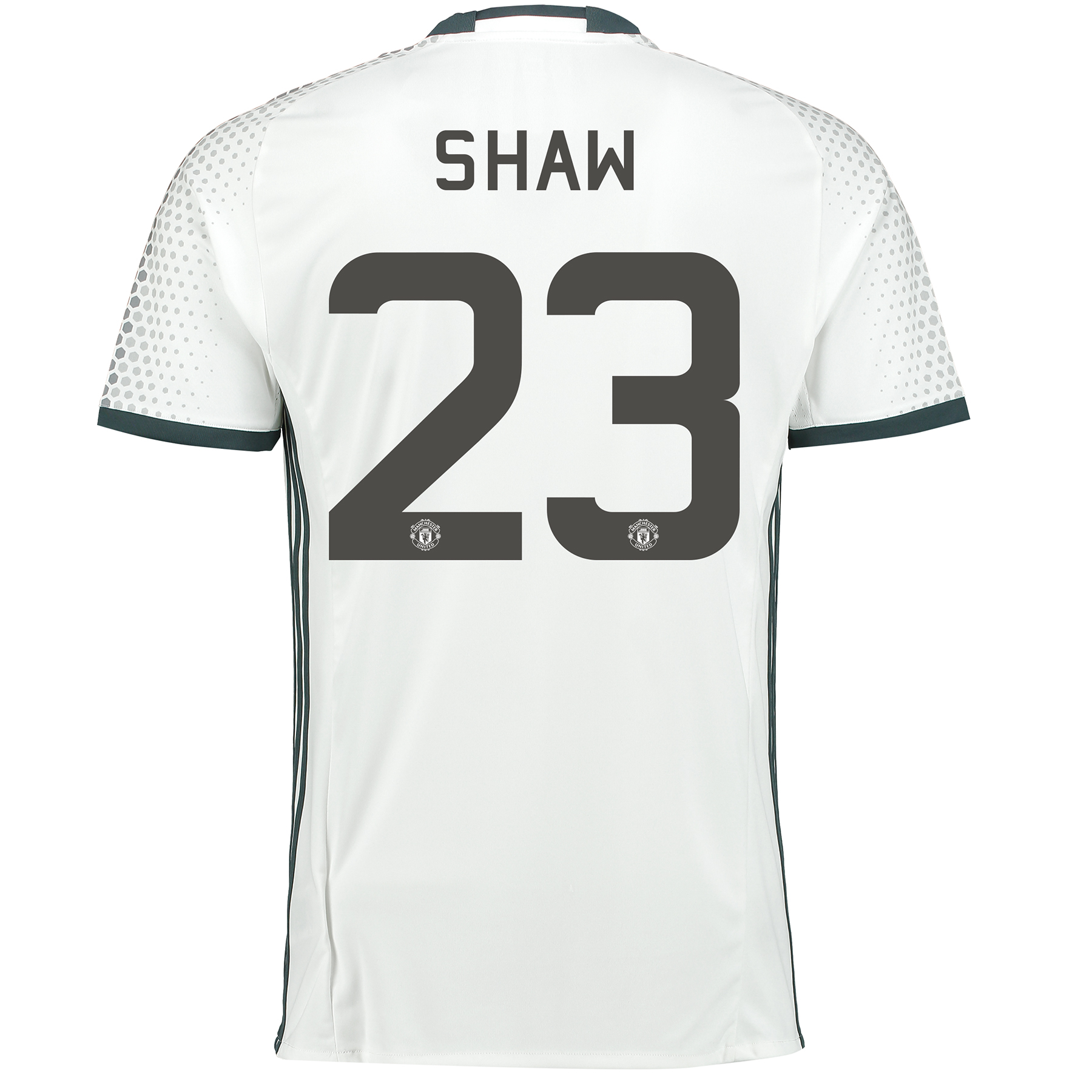 Manchester United Cup Third Shirt 2016-17 with Shaw 23 printing