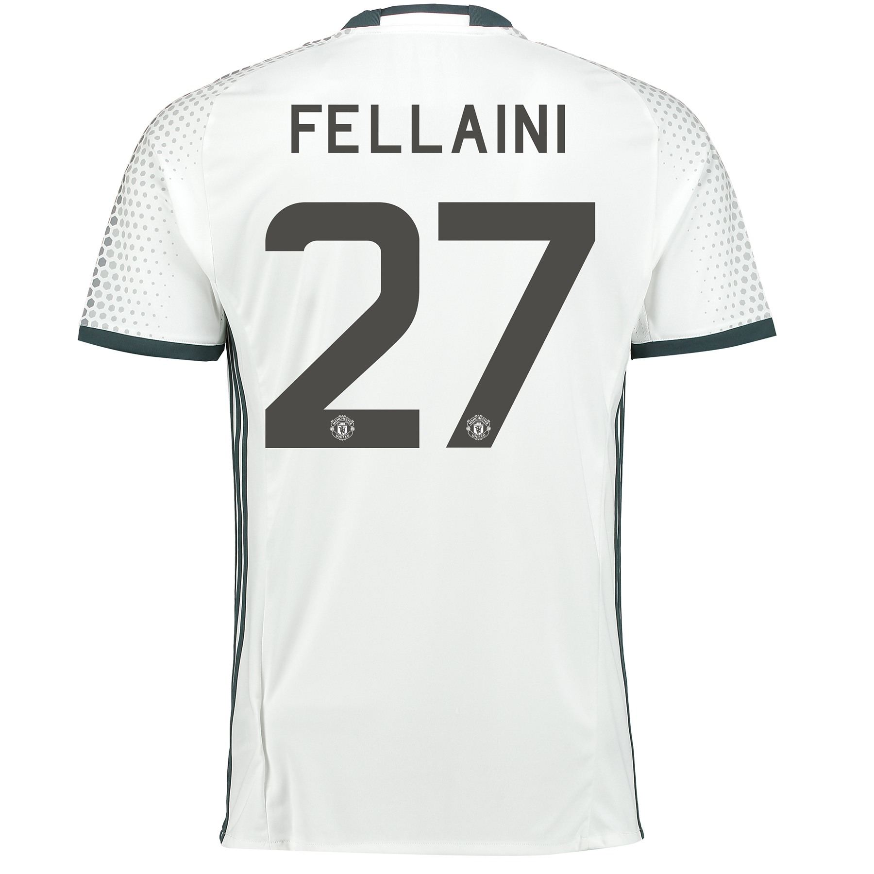 Manchester United Cup Third Shirt 2016-17 with Fellaini 27 printing