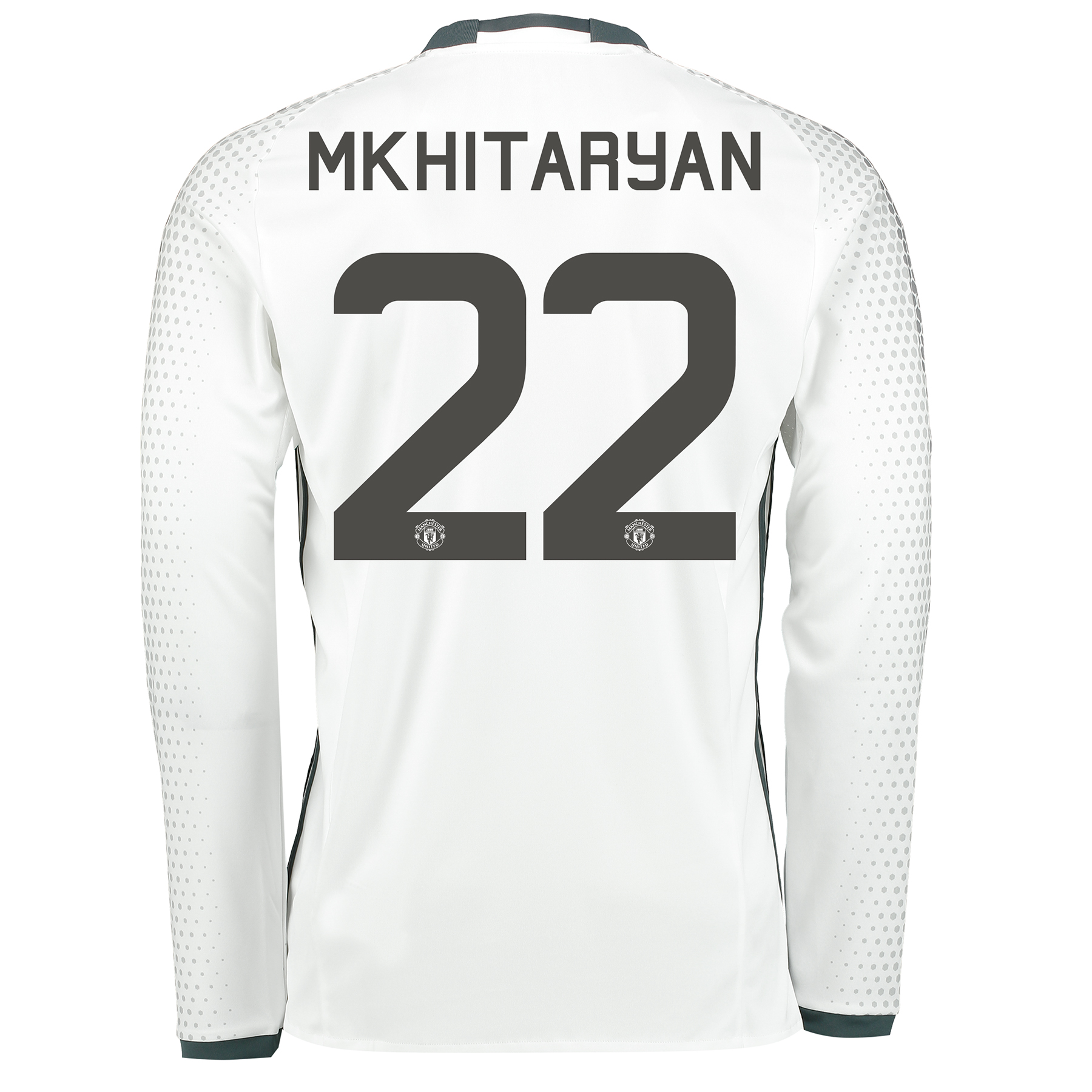 Manchester United Cup Third Shirt 2016-17 - Long Sleeve with Mkhitarya