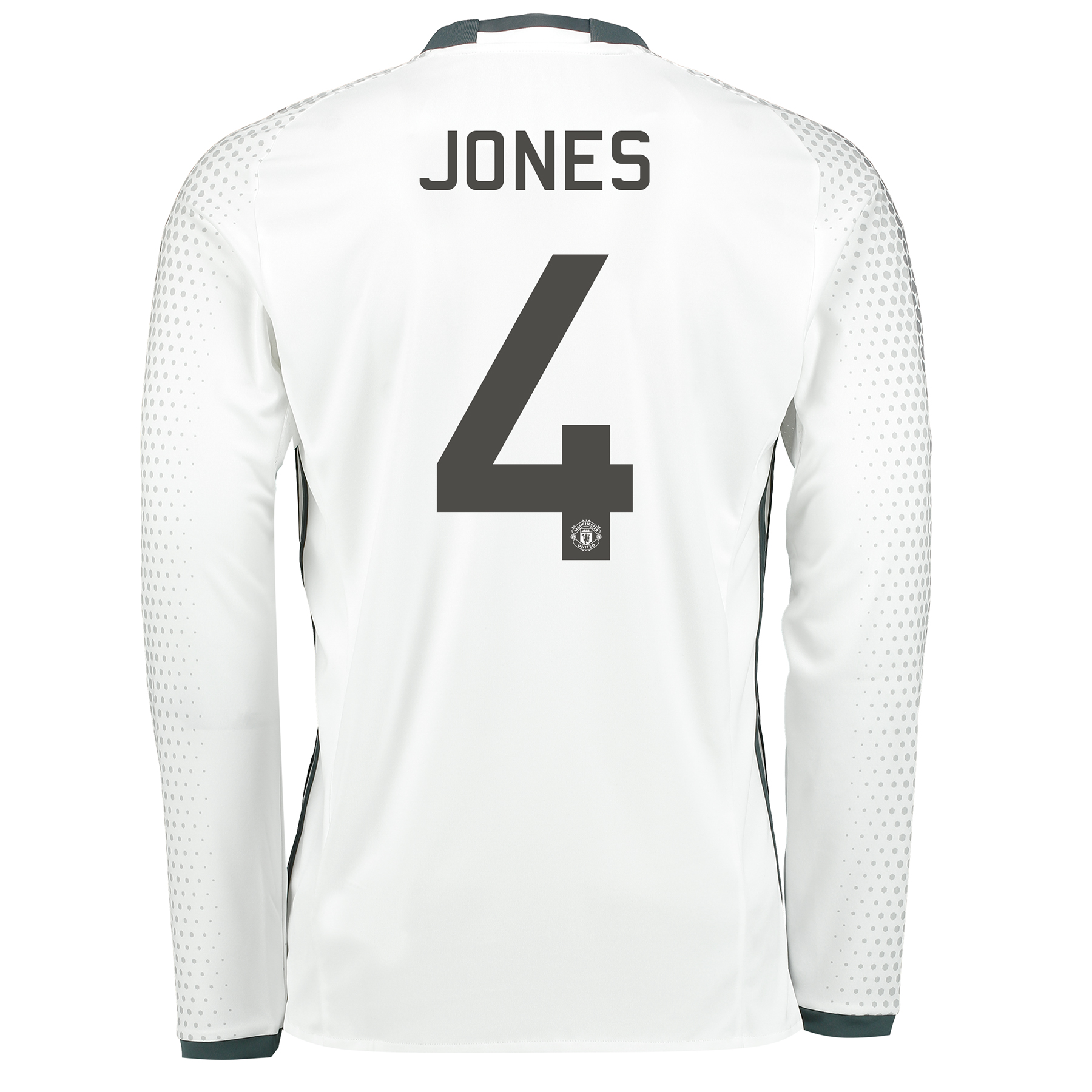 Manchester United Cup Third Shirt 2016-17 - Long Sleeve with Jones 4 p