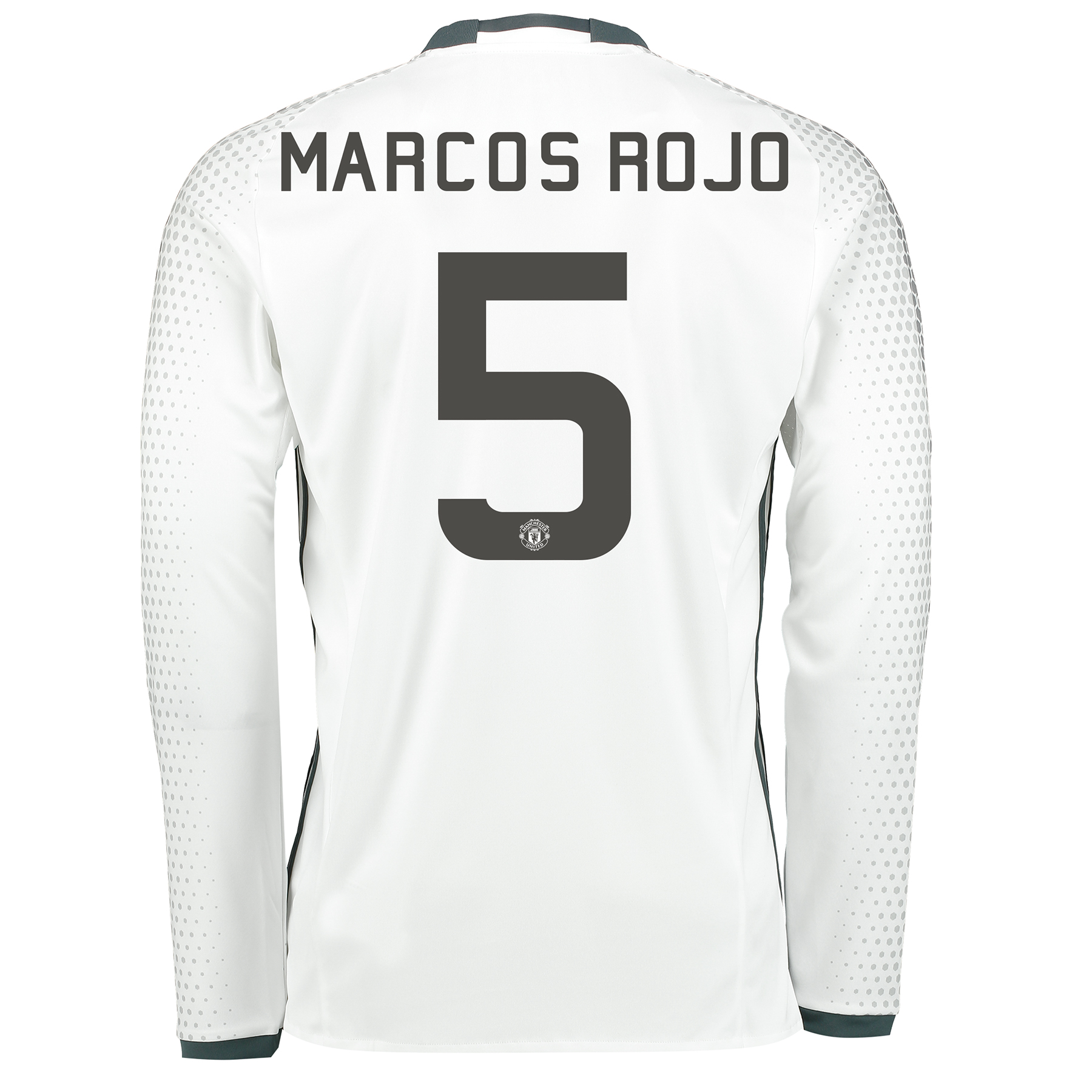 Manchester United Cup Third Shirt 2016-17 - Long Sleeve with Marcos Ro