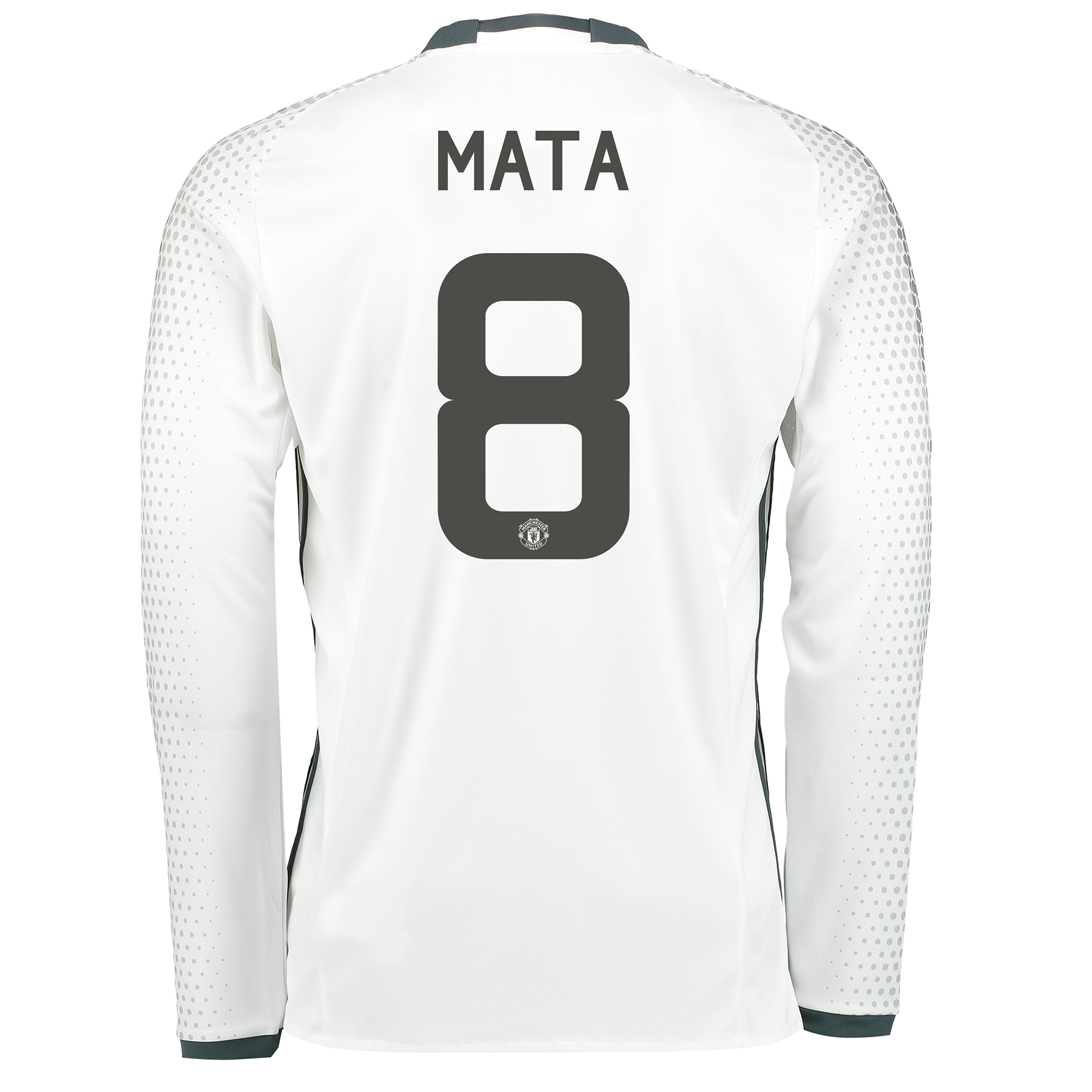 Manchester United Cup Third Shirt 2016-17 - Long Sleeve with Mata 8 pr