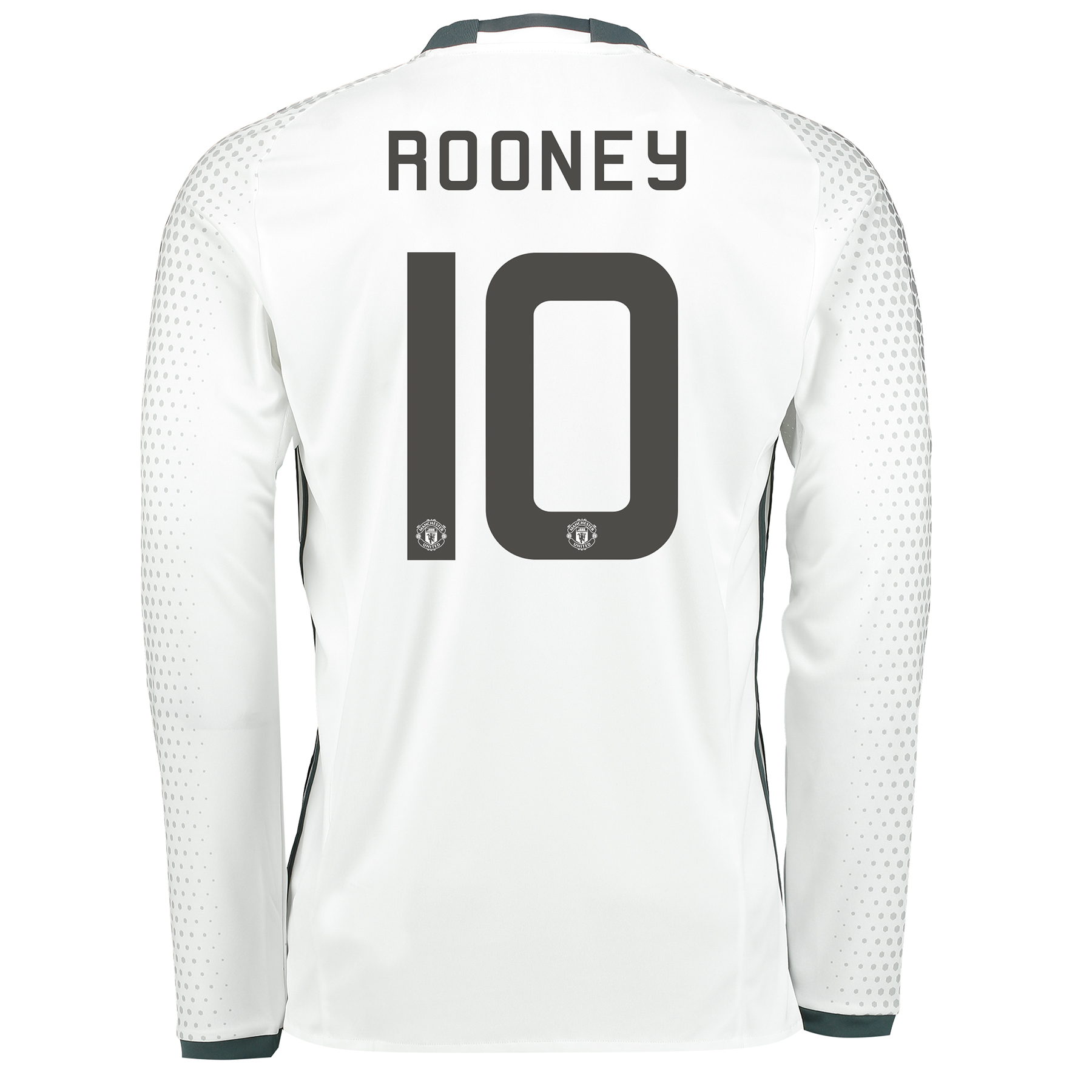 Manchester United Cup Third Shirt 2016-17 - Long Sleeve with Rooney 10
