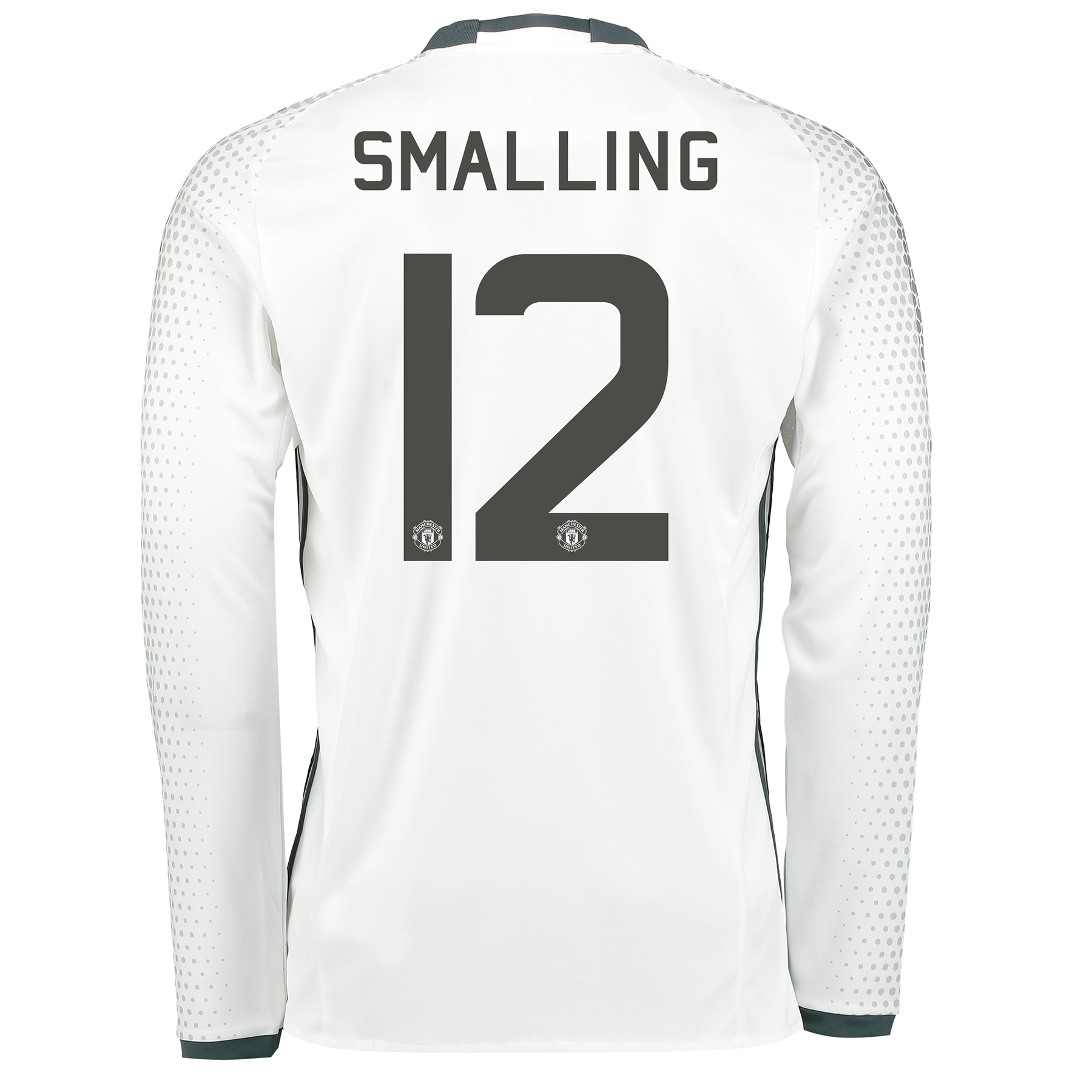 Manchester United Cup Third Shirt 2016-17 - Long Sleeve with Smalling