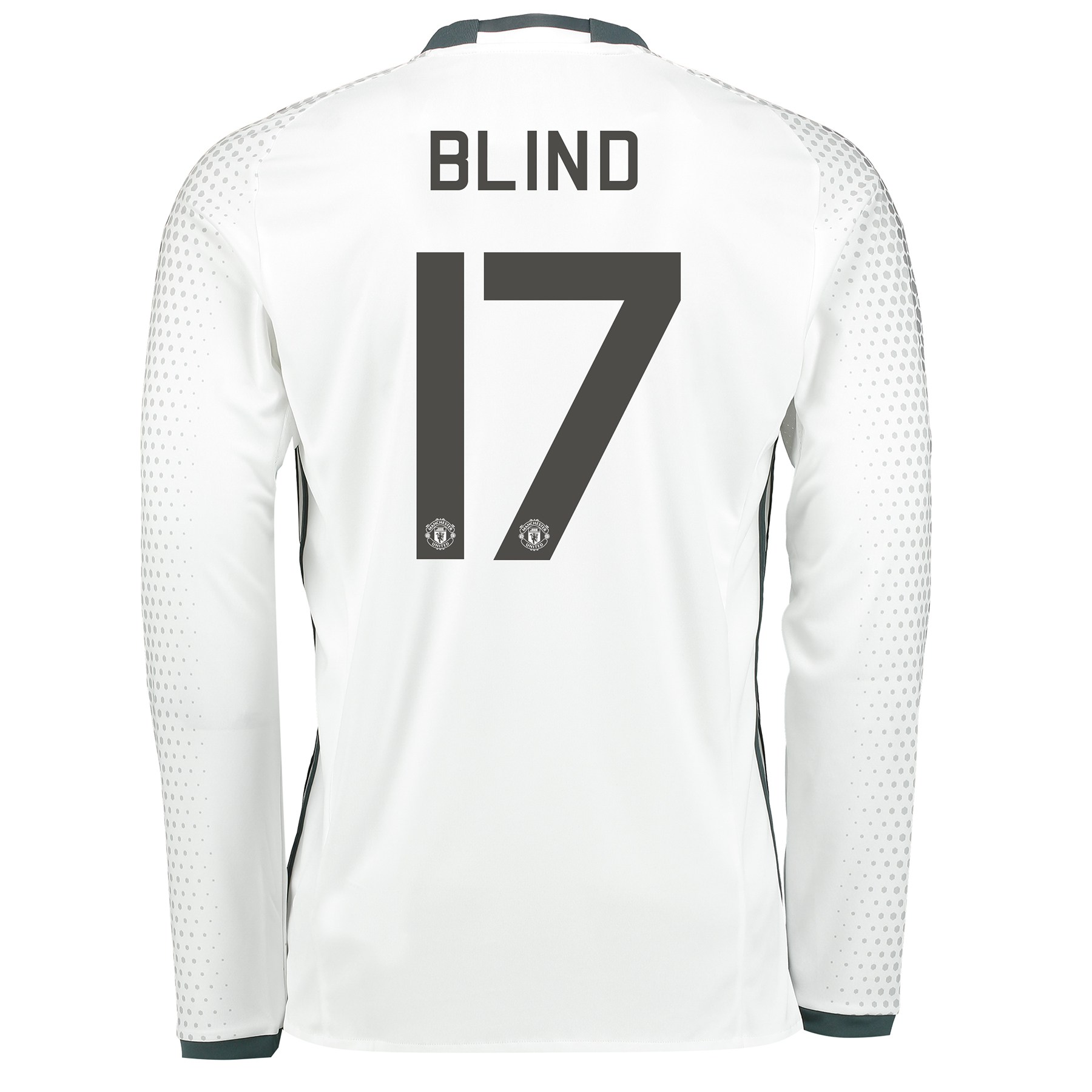 Manchester United Cup Third Shirt 2016-17 - Long Sleeve with Blind 17