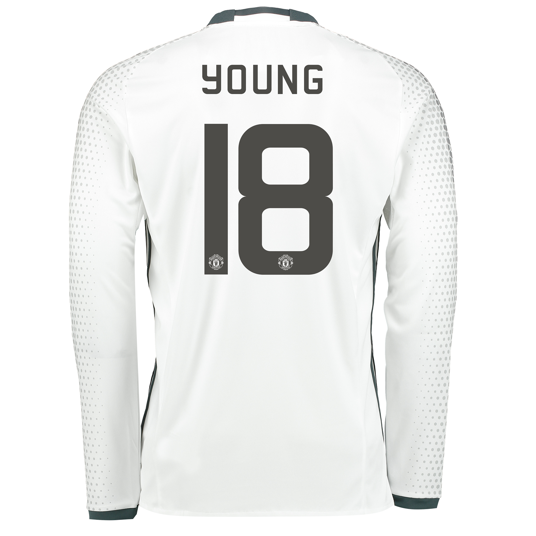 Manchester United Cup Third Shirt 2016-17 - Long Sleeve with Young 18