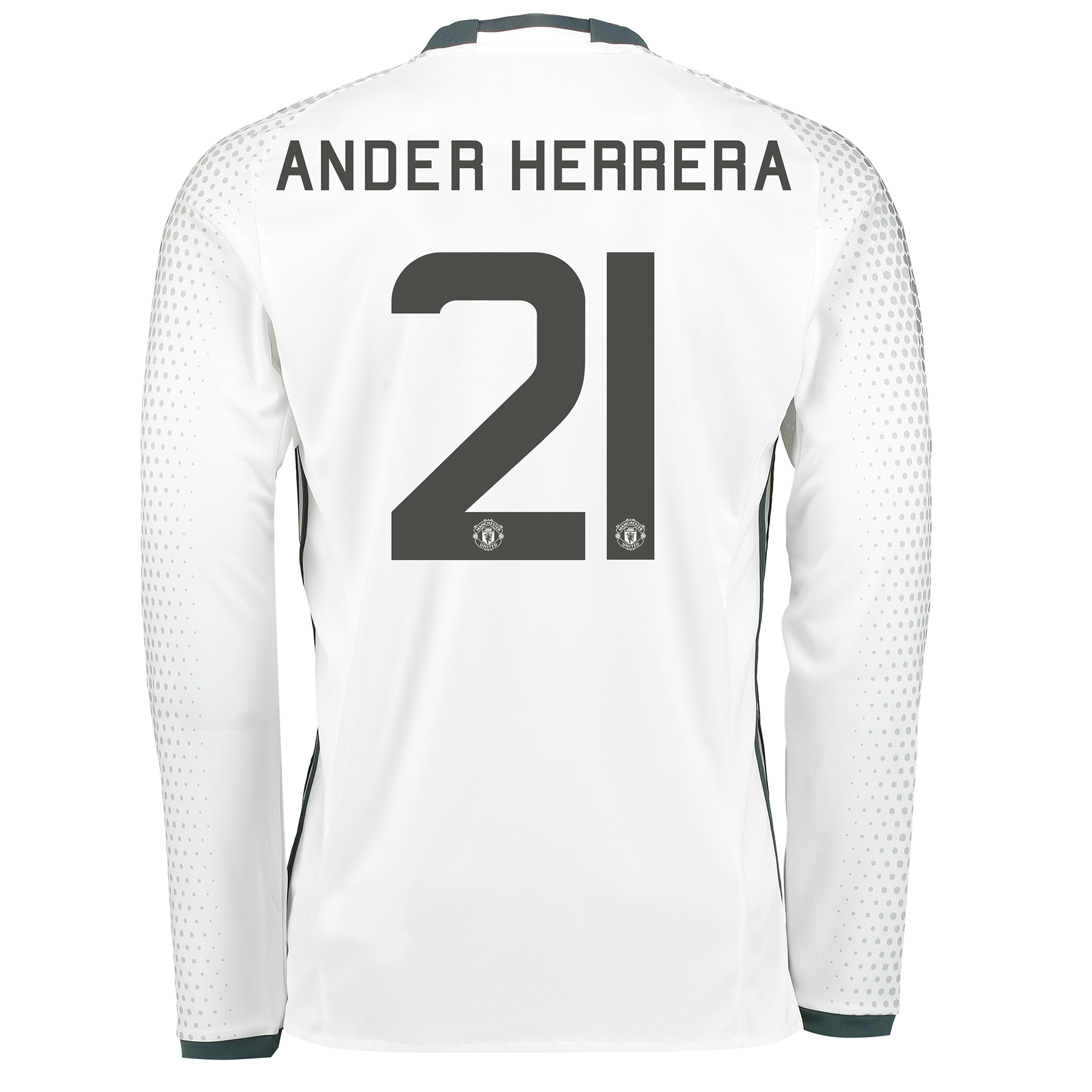 Manchester United Cup Third Shirt 2016-17 - Long Sleeve with Herrera 2