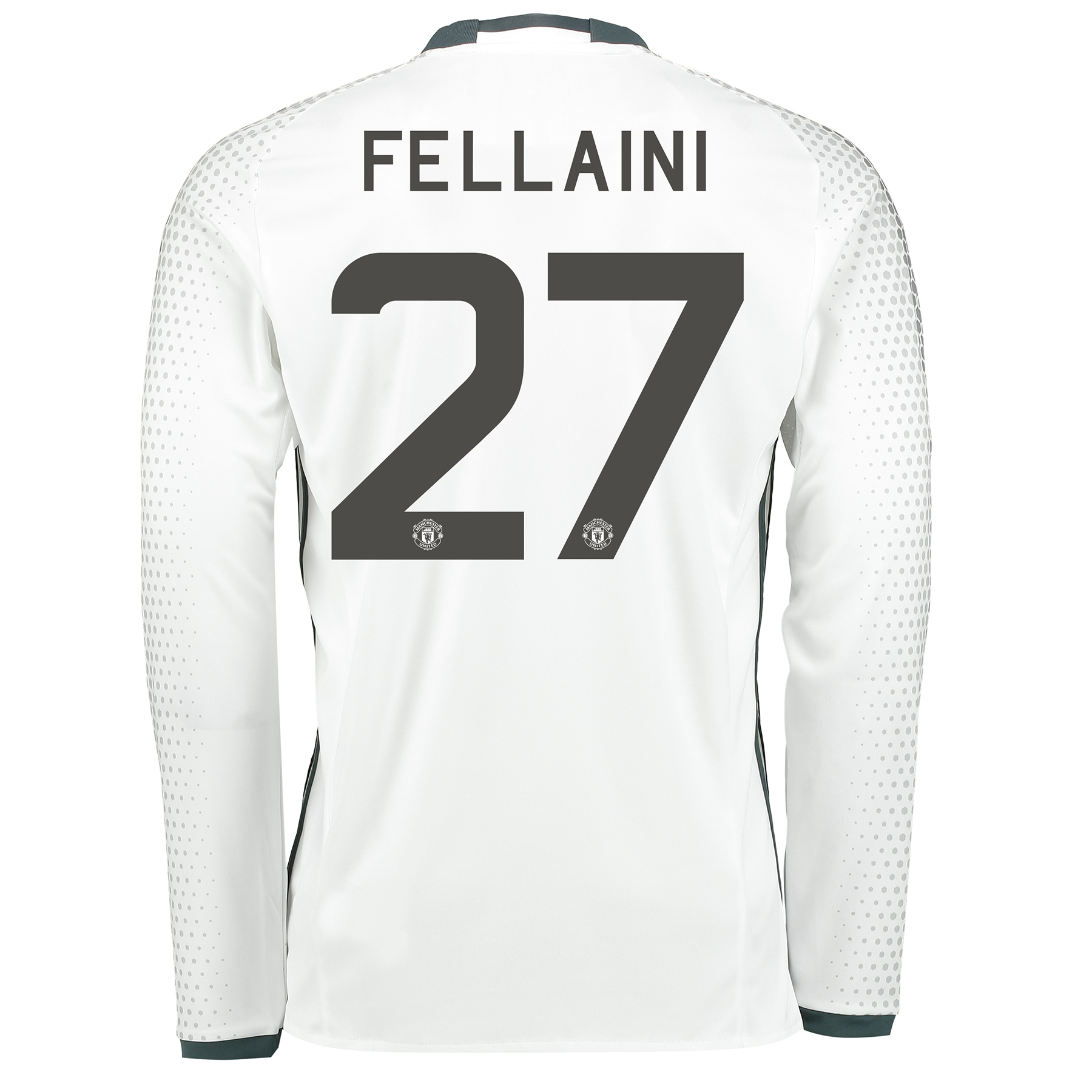 Manchester United Cup Third Shirt 2016-17 - Long Sleeve with Fellaini