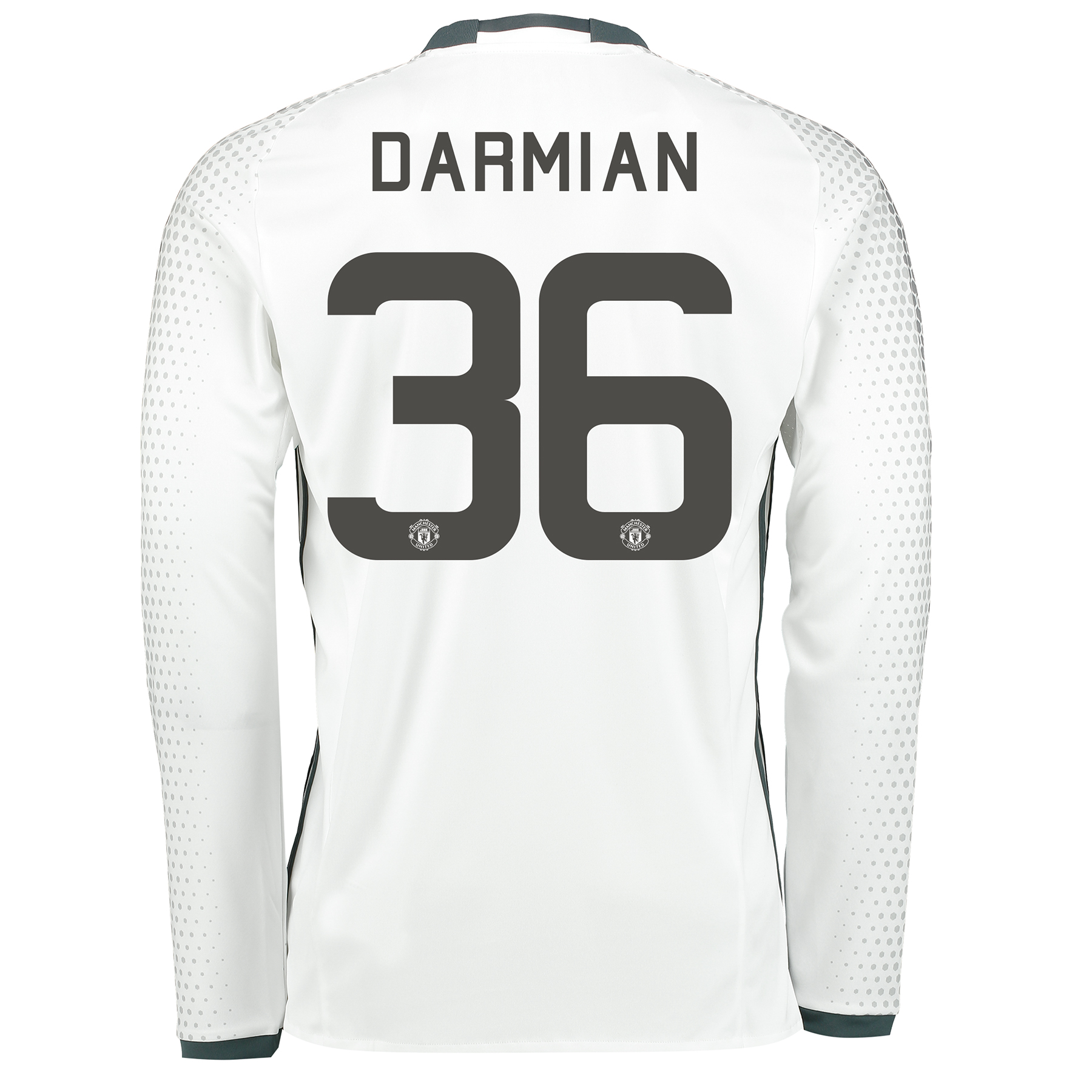 Manchester United Cup Third Shirt 2016-17 - Long Sleeve with Darmian 3