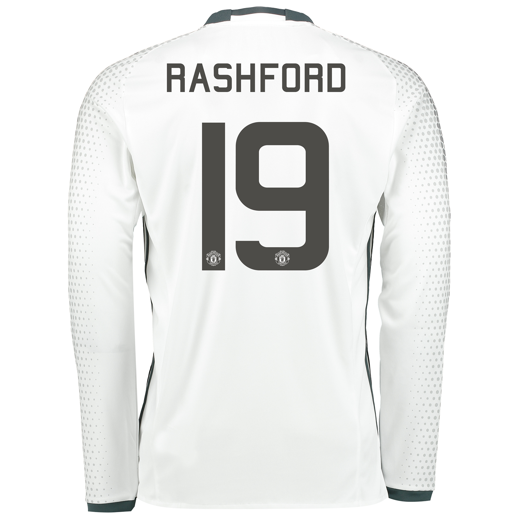 Manchester United Cup Third Shirt 2016-17 - Long Sleeve with Rashford