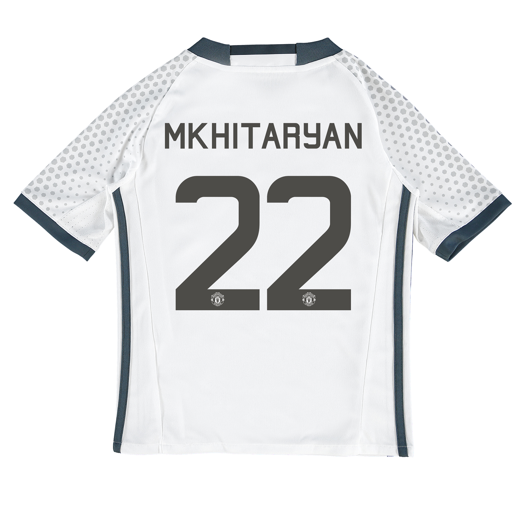 Manchester United Cup Third Shirt 2016-17 - Kids with Mkhitaryan 22 pr