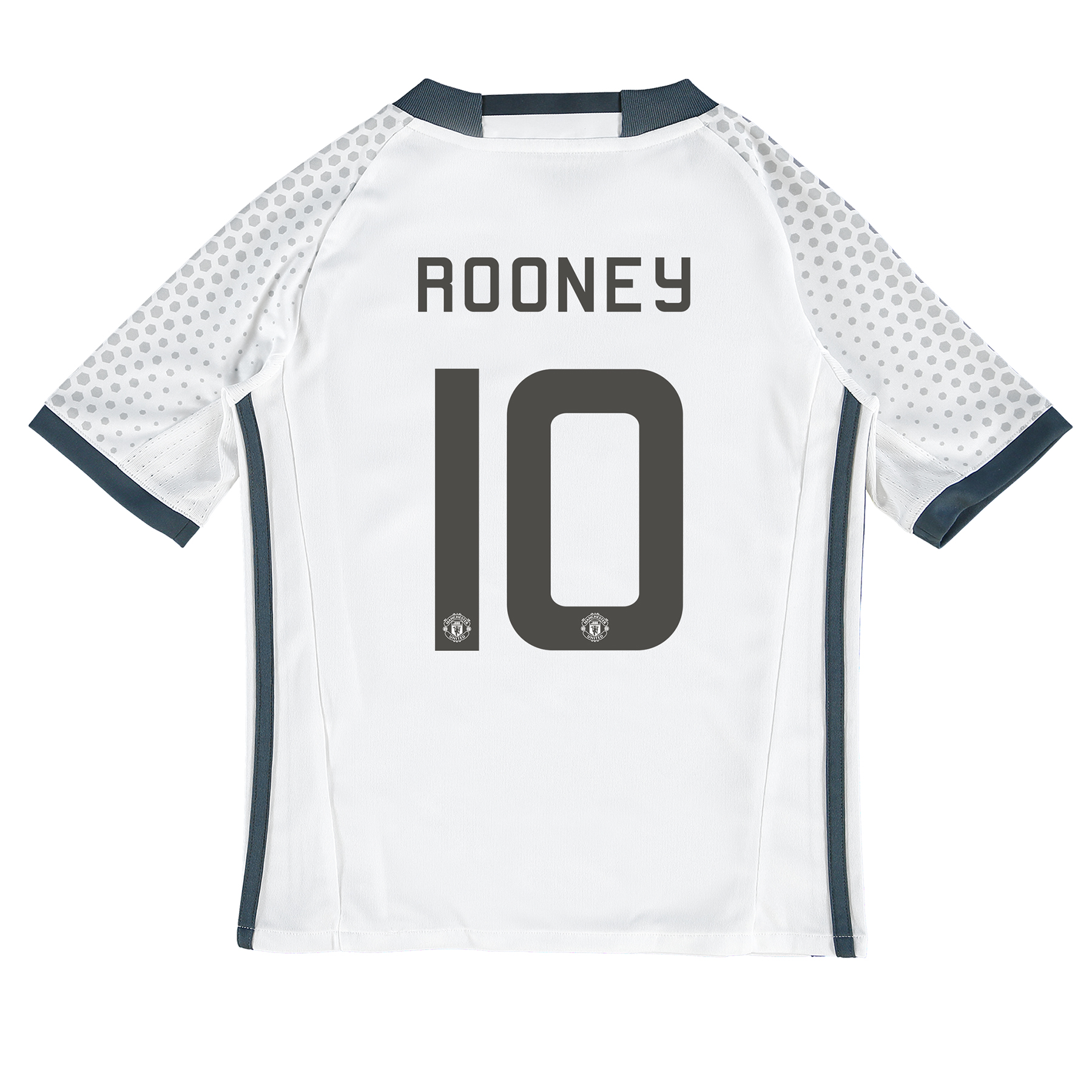 Manchester United Cup Third Shirt 2016-17 - Kids with Rooney 10 printi
