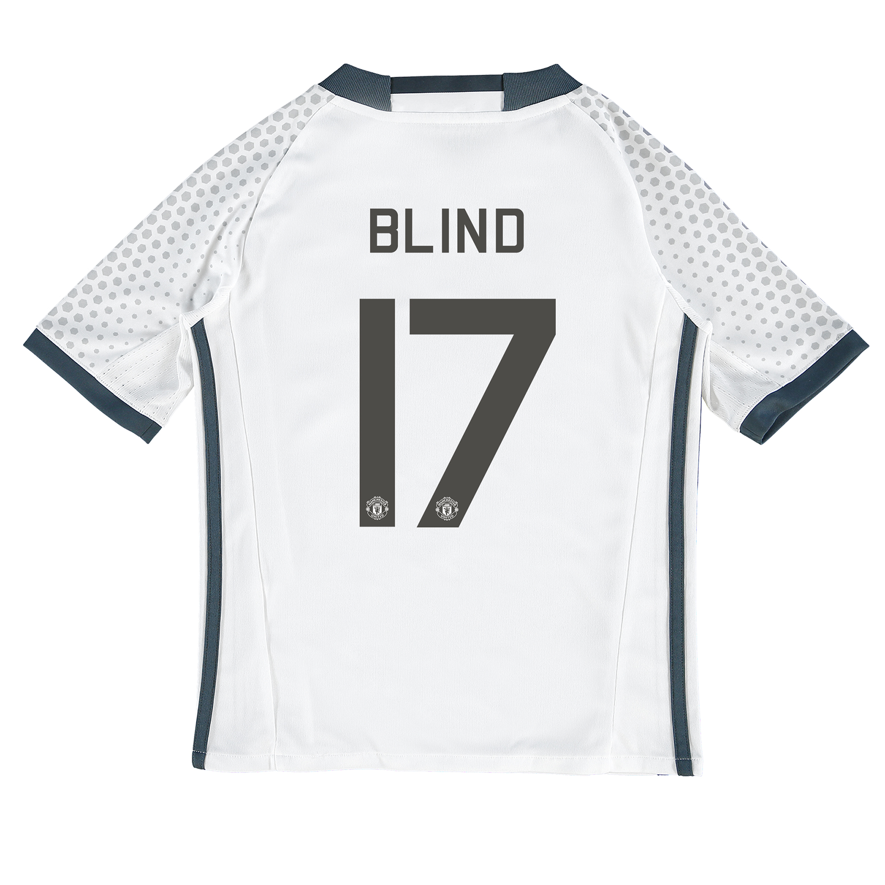 Manchester United Cup Third Shirt 2016-17 - Kids with Blind 17 printin