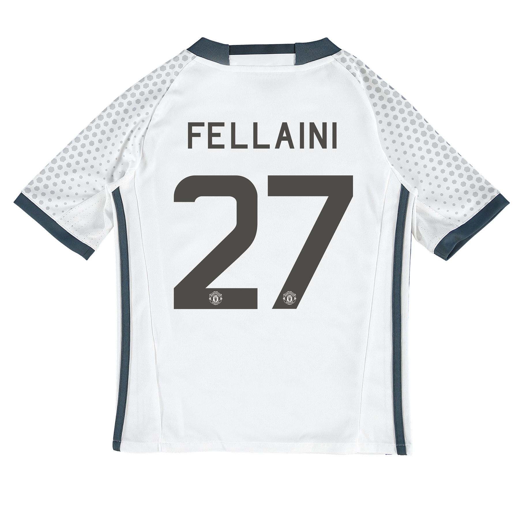 Manchester United Cup Third Shirt 2016-17 - Kids with Fellaini 27 prin