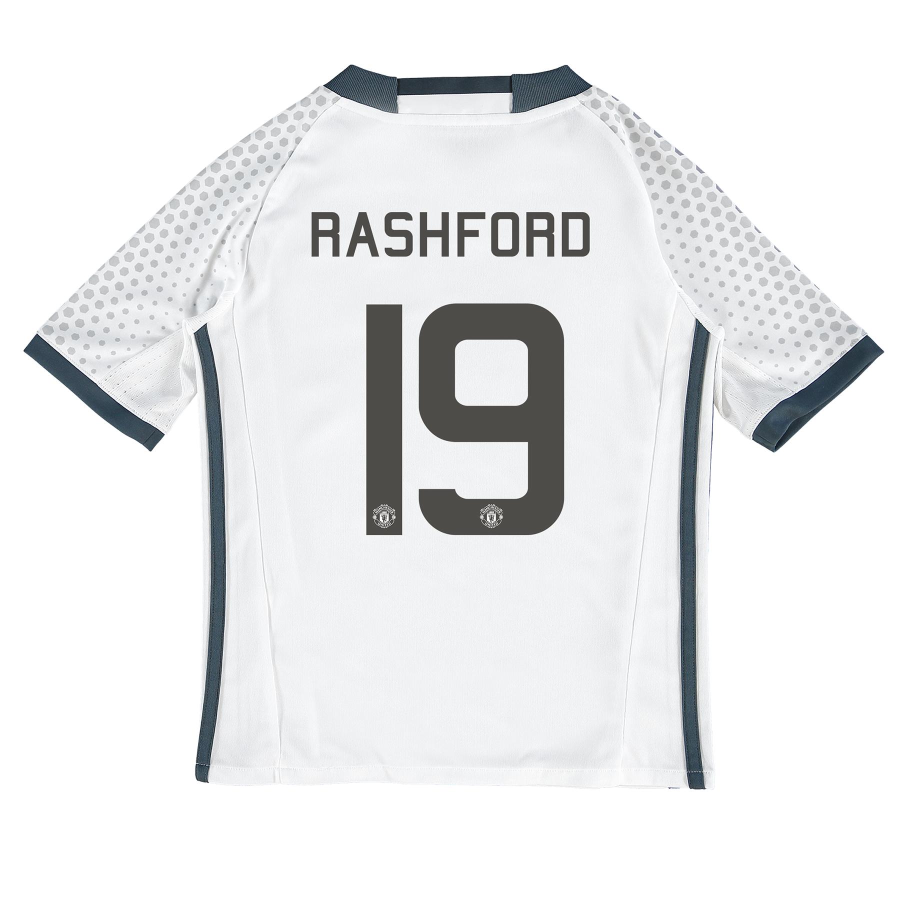 Manchester United Cup Third Shirt 2016-17 - Kids with Rashford 19 prin