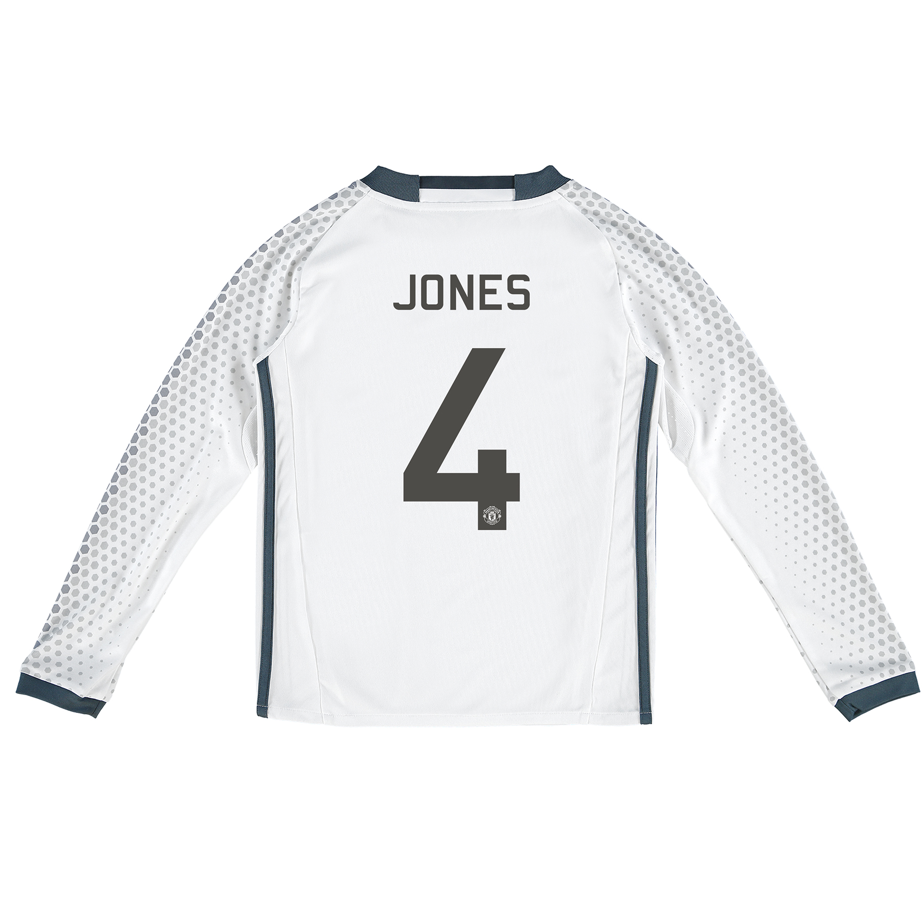 Manchester United Cup Third Shirt 2016-17 - Kids - Long Sleeve with Jo