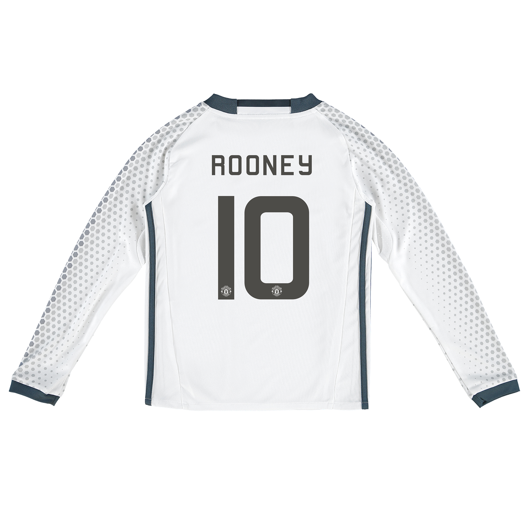 Manchester United Cup Third Shirt 2016-17 - Kids - Long Sleeve with Ro