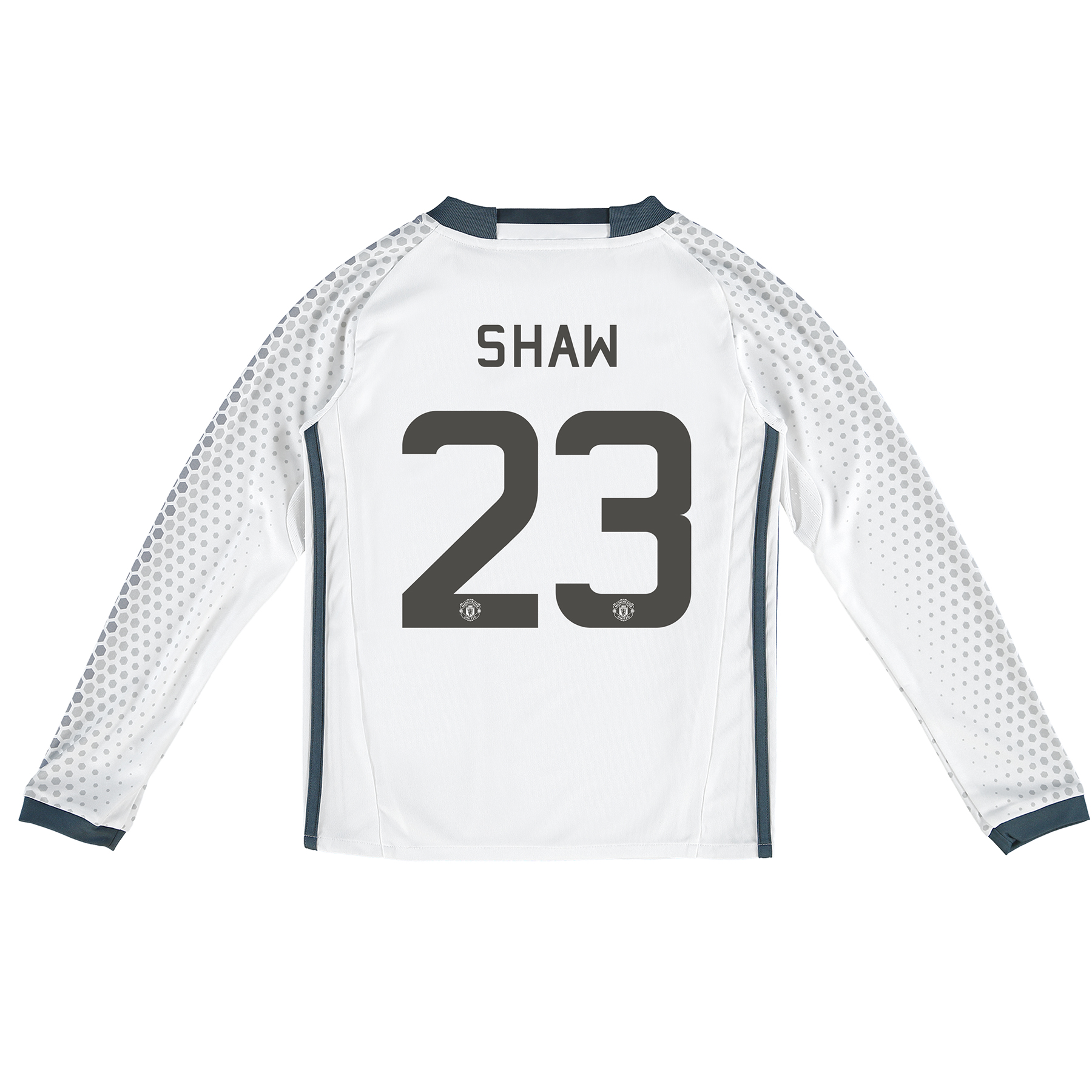 Manchester United Cup Third Shirt 2016-17 - Kids - Long Sleeve with Sh