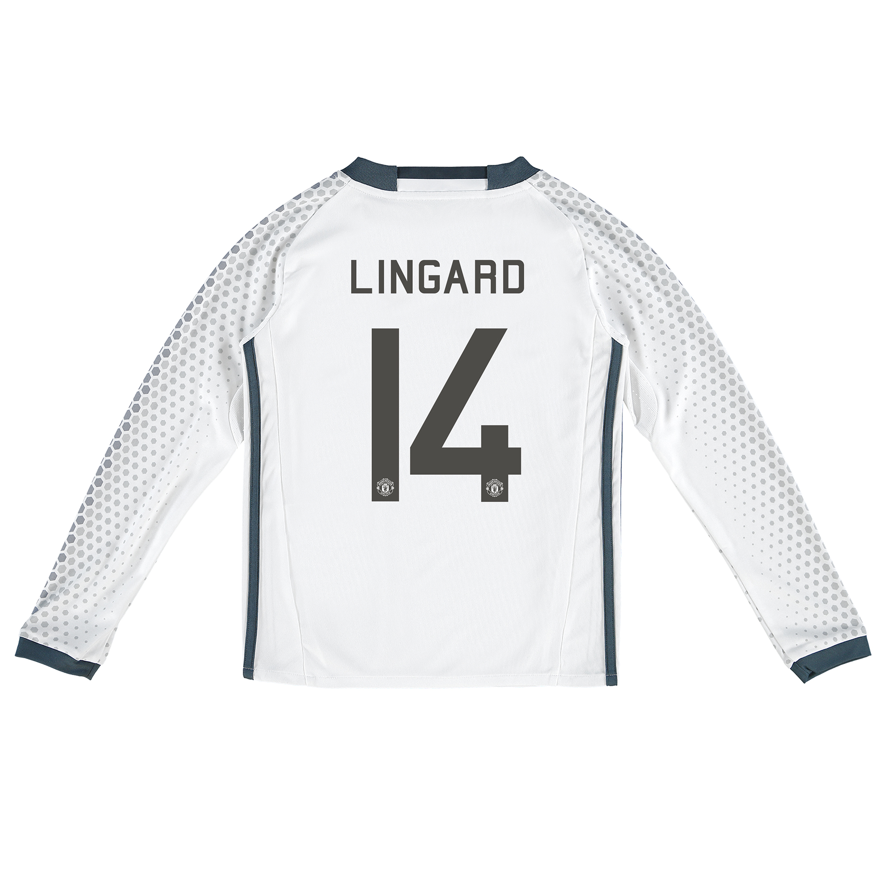 Manchester United Cup Third Shirt 2016-17 - Kids - Long Sleeve with Li