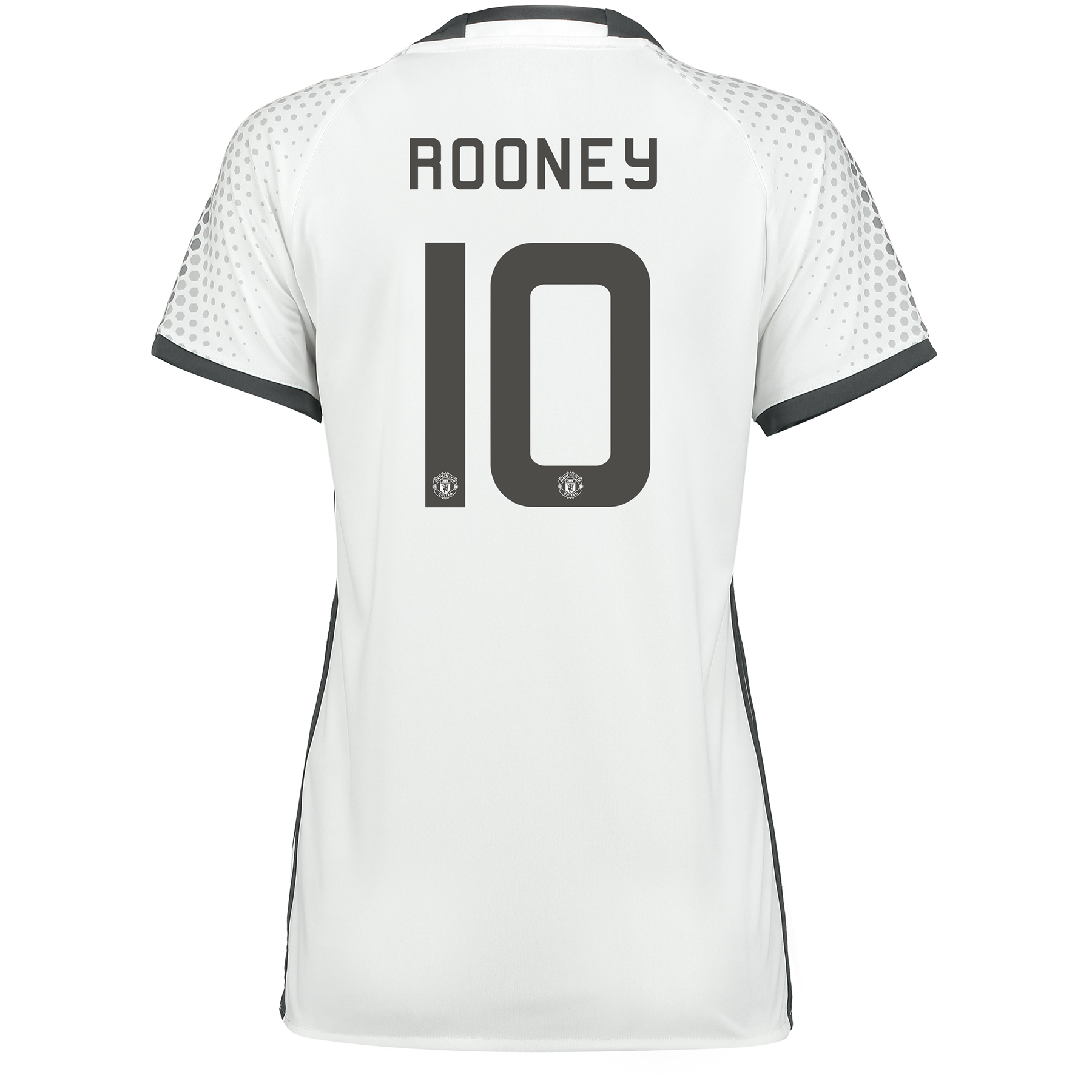 Manchester United Cup Third Shirt 2016-17 - Womens with Rooney 10 prin