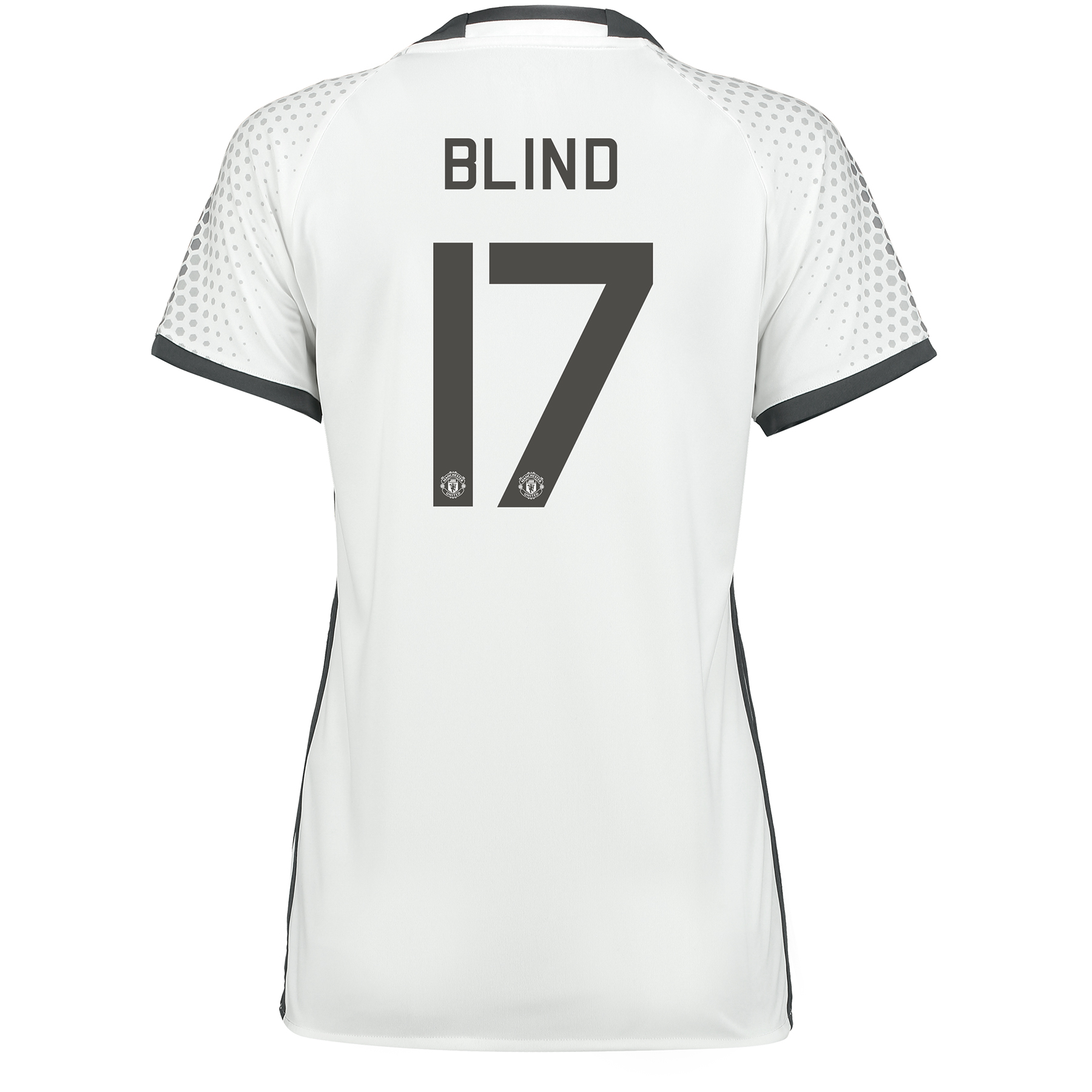 Manchester United Cup Third Shirt 2016-17 - Womens with Blind 17 print