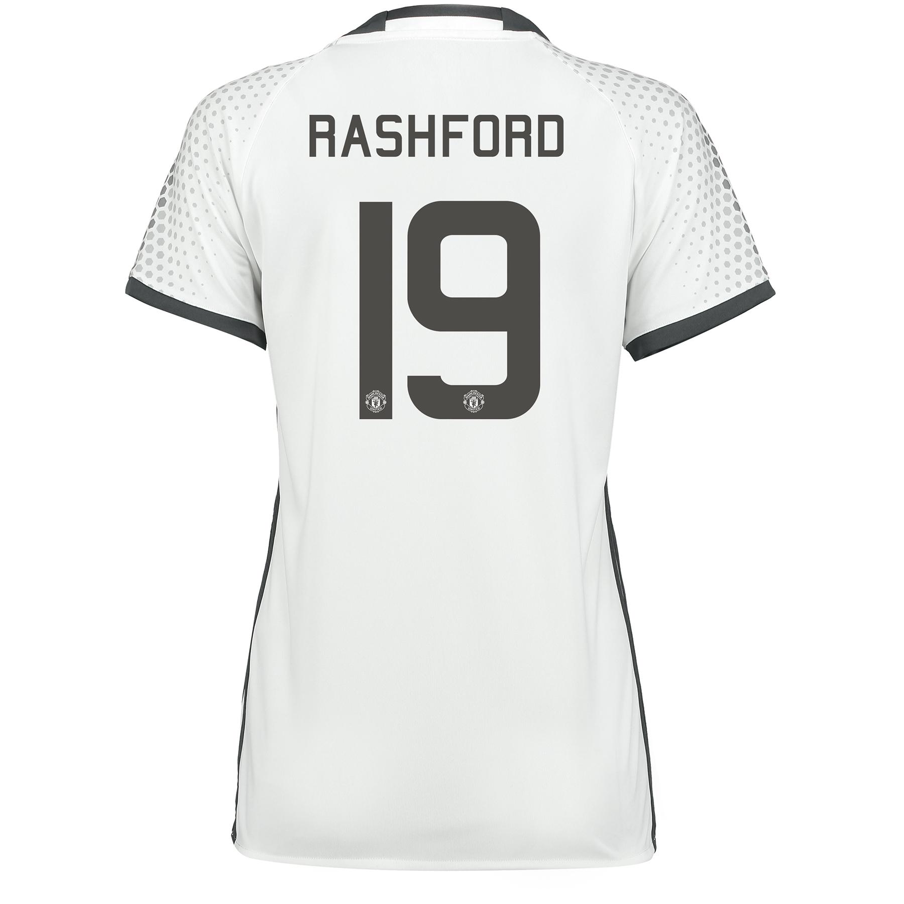 Manchester United Cup Third Shirt 2016-17 - Womens with Rashford 19 pr