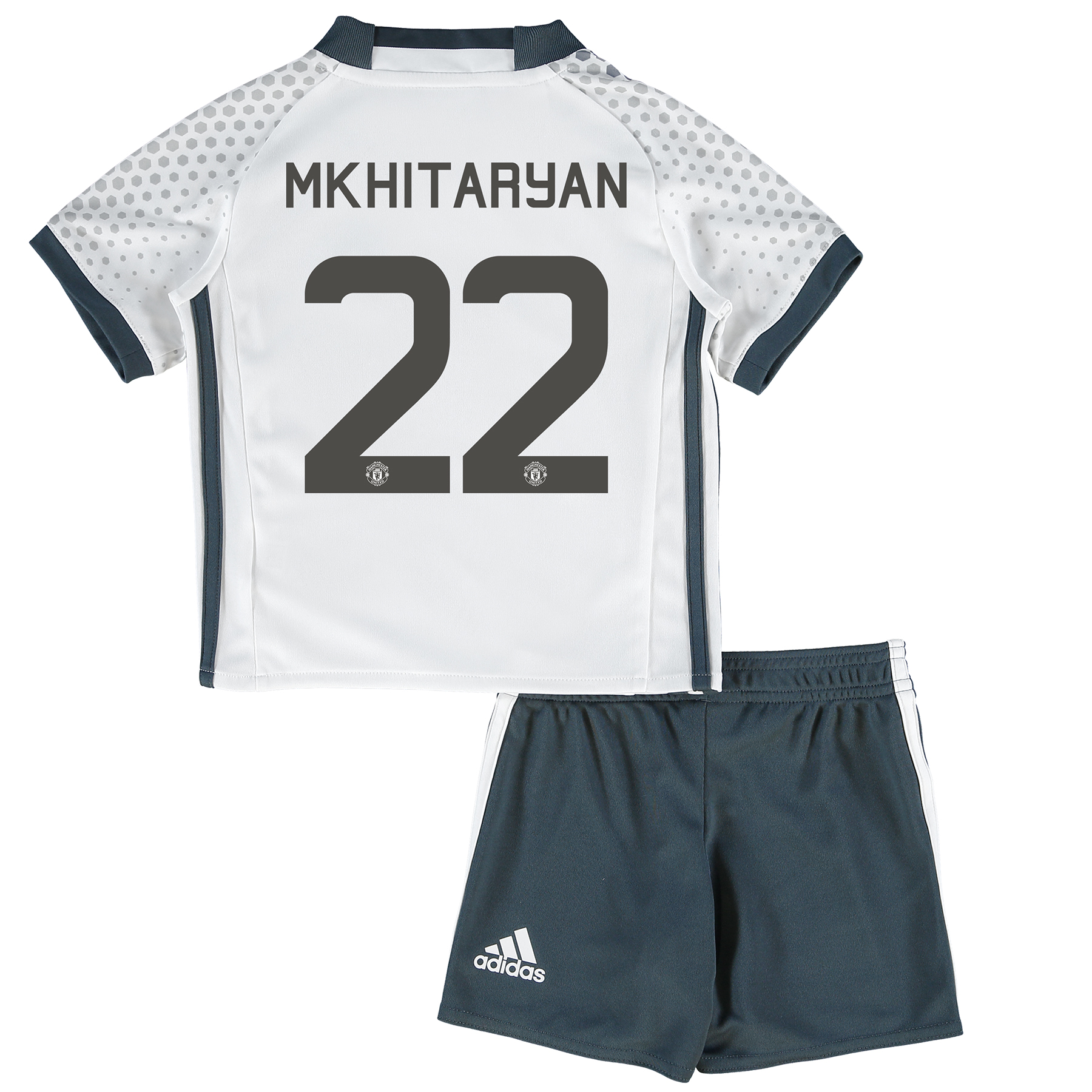 Manchester United Cup Third Mini Kit 2016-17 with Mkhitaryan 22 printi