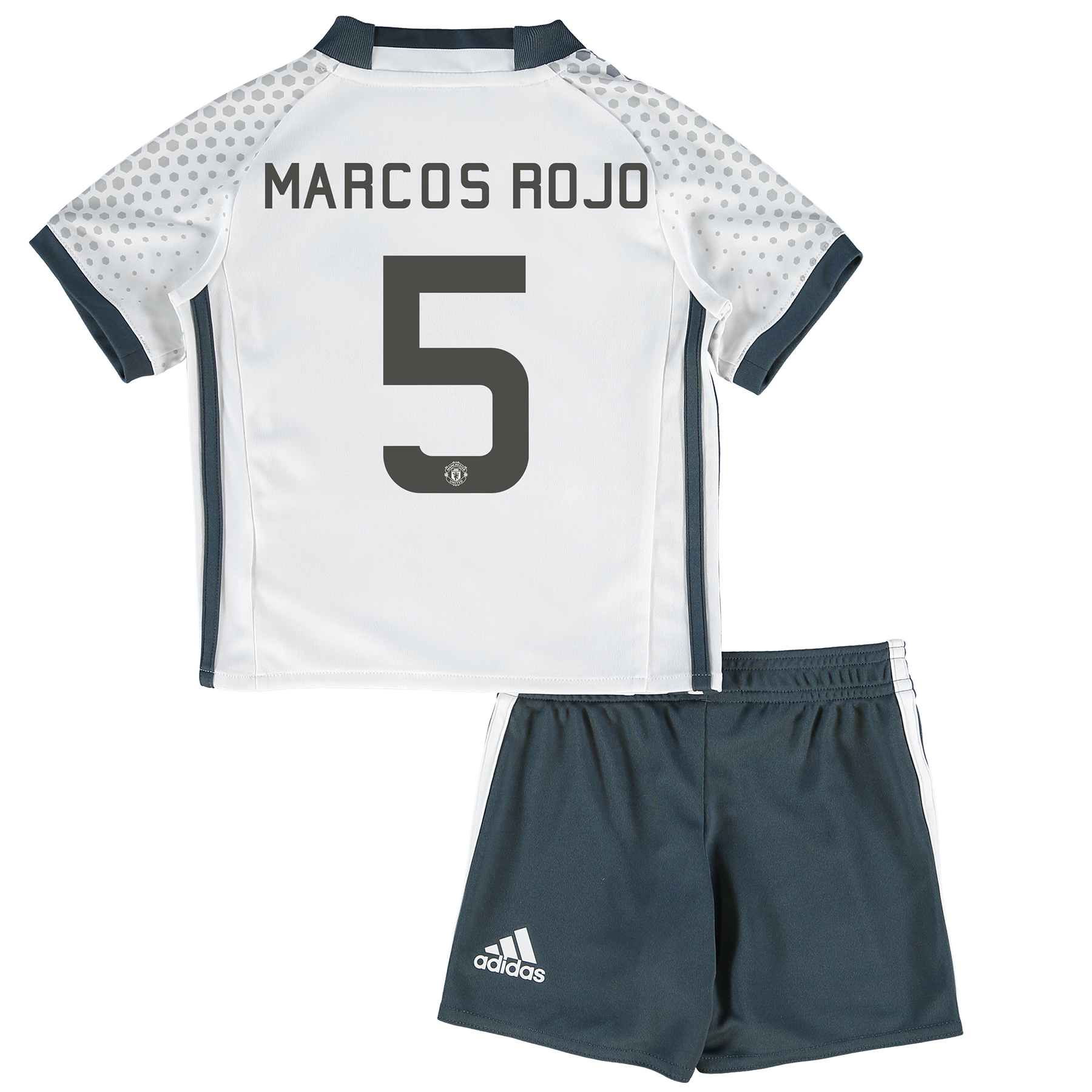 Manchester United Cup Third Mini Kit 2016-17 with Marcos Rojo 5 printi