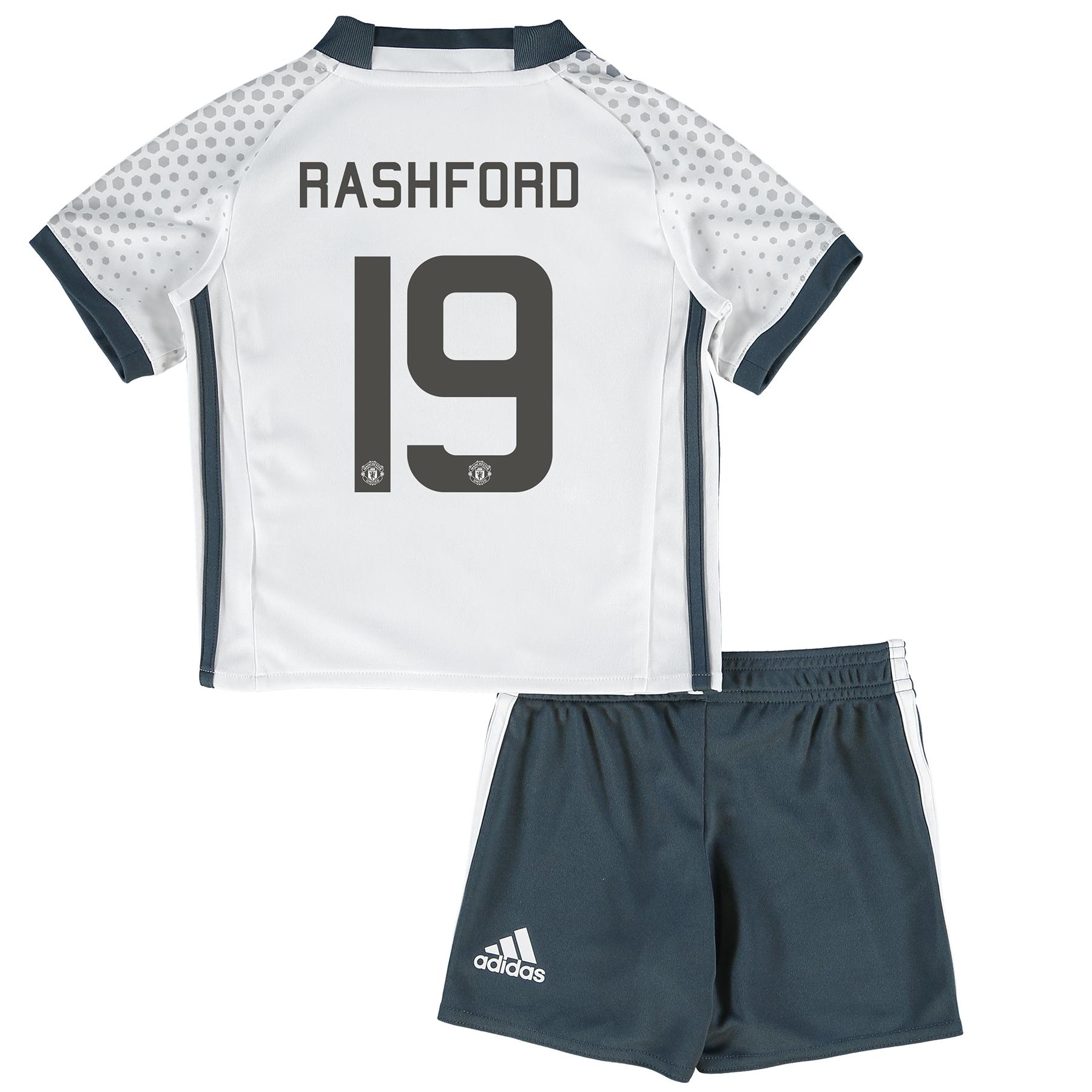 Manchester United Cup Third Mini Kit 2016-17 with Rashford 19 printing