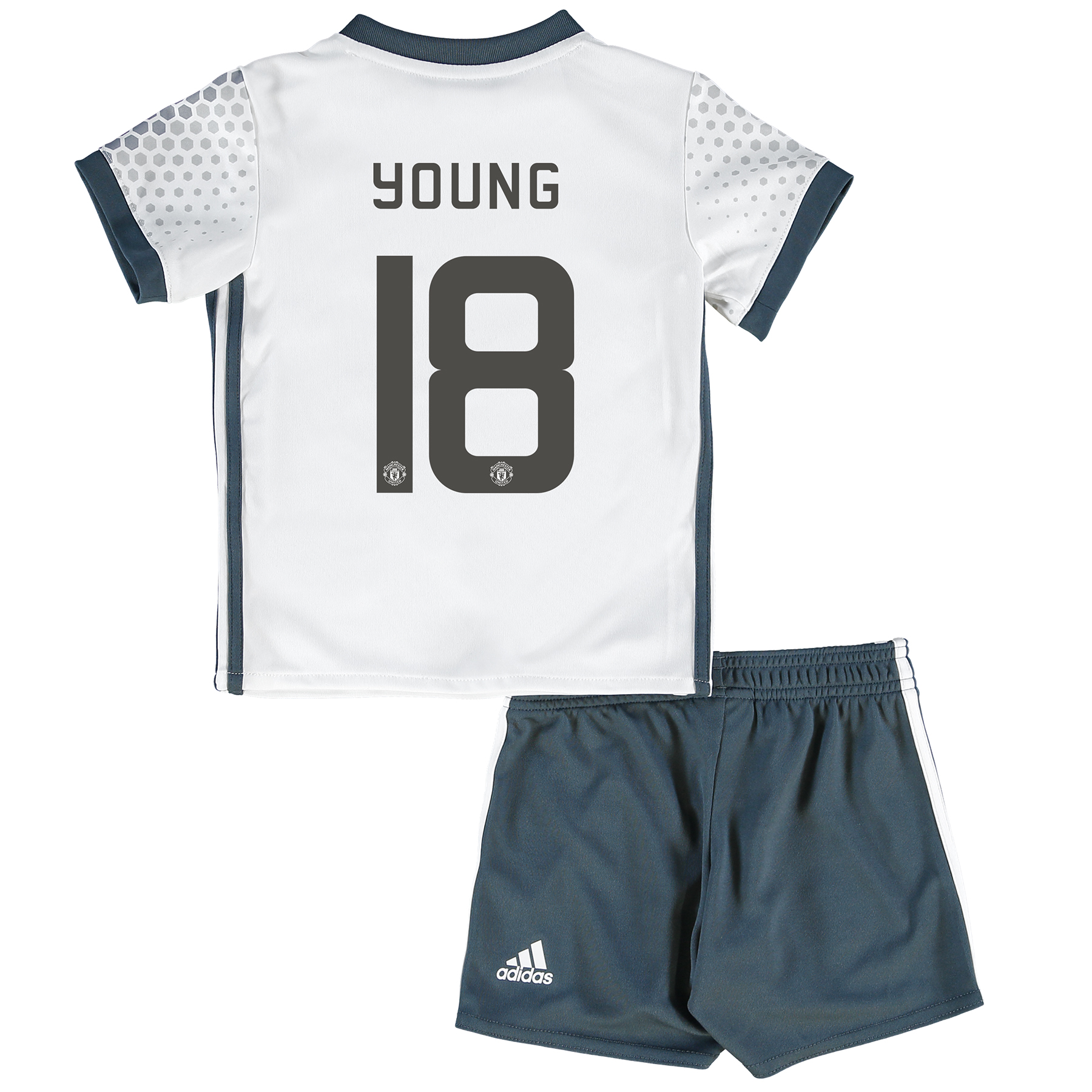 Manchester United Cup Third Baby Kit 2016-17 with Young 18 printing