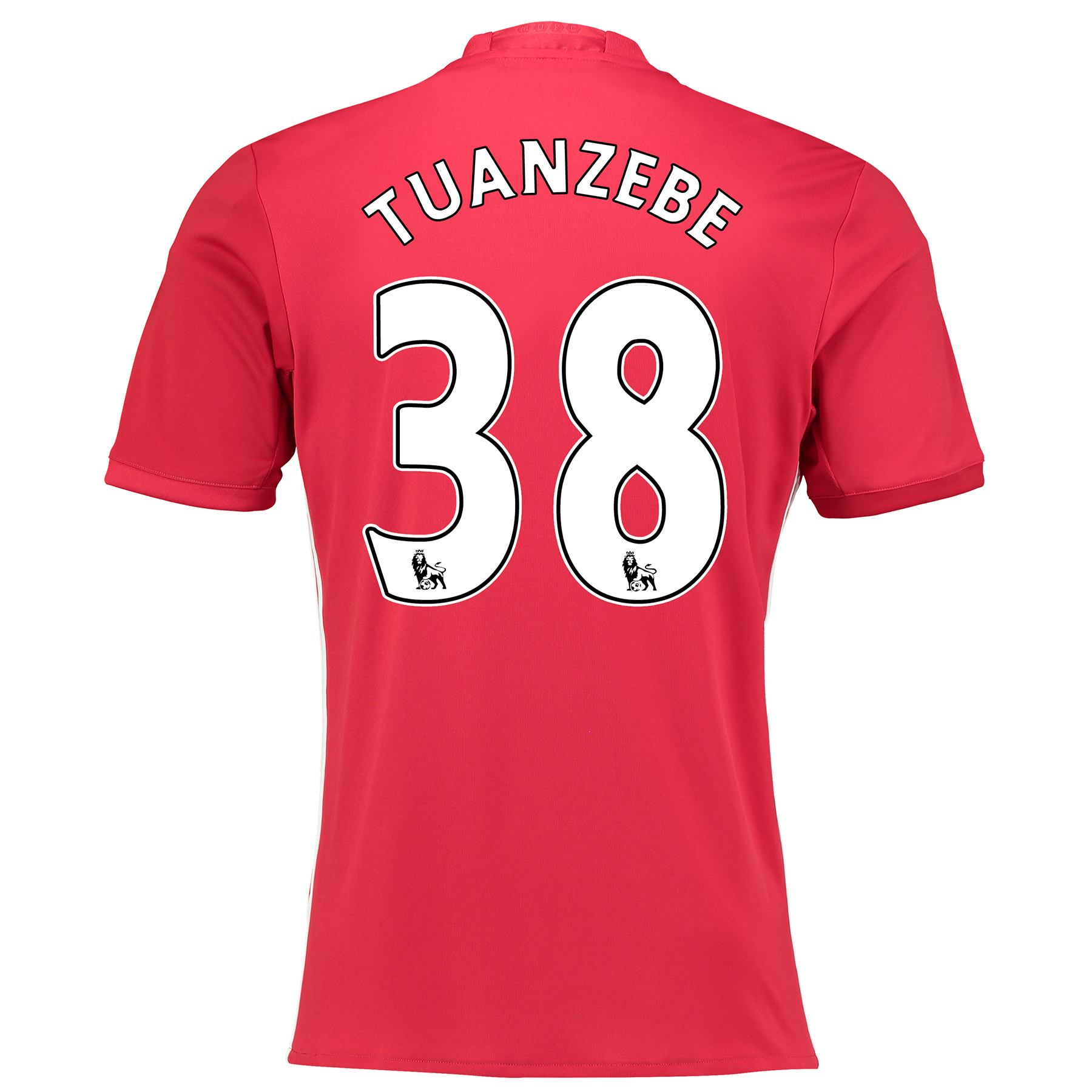 Manchester United Home Shirt 2016-17 with Tuanzebe 38 printing