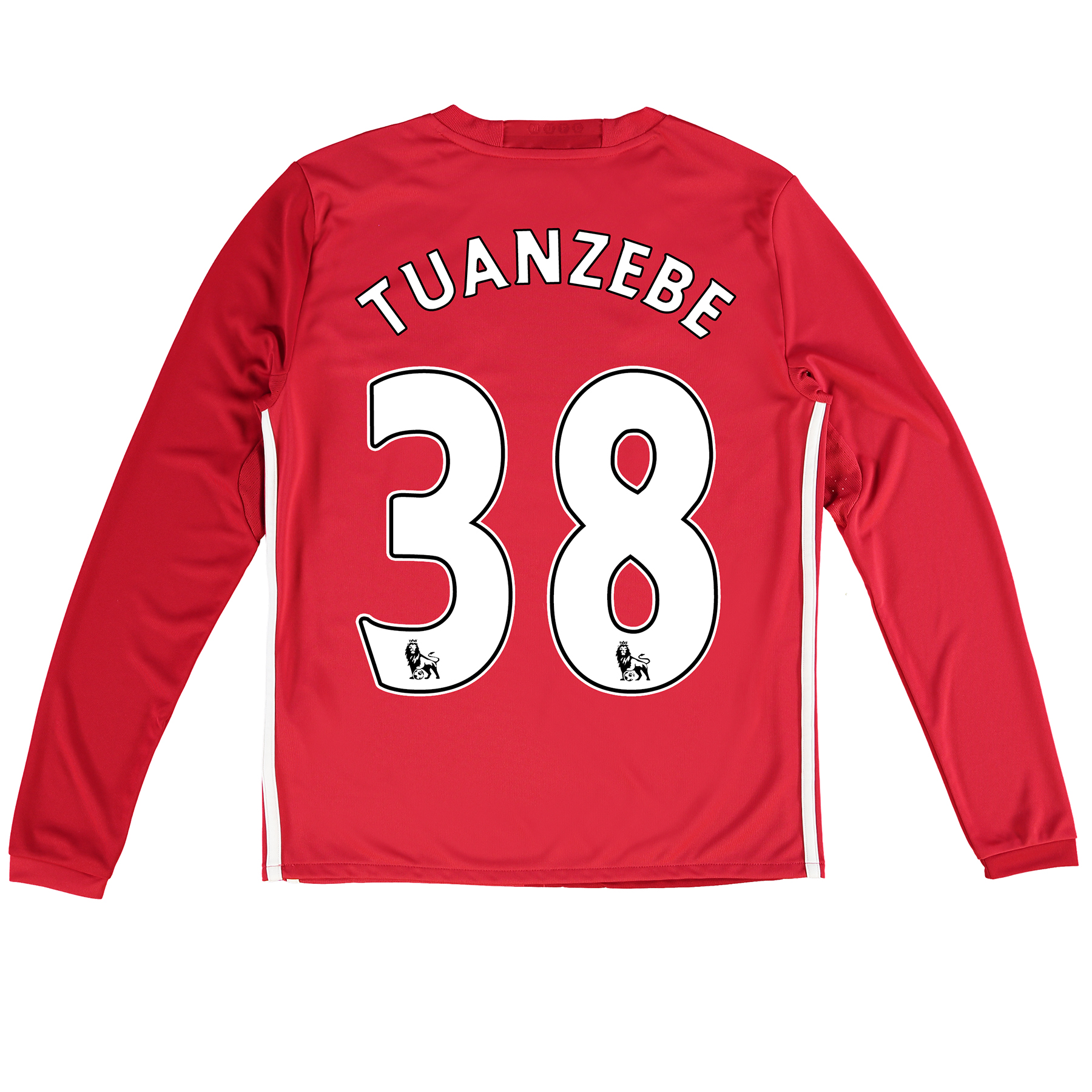 Manchester United Home Shirt 2016-17 - Kids - Long Sleeve with Tuanzeb
