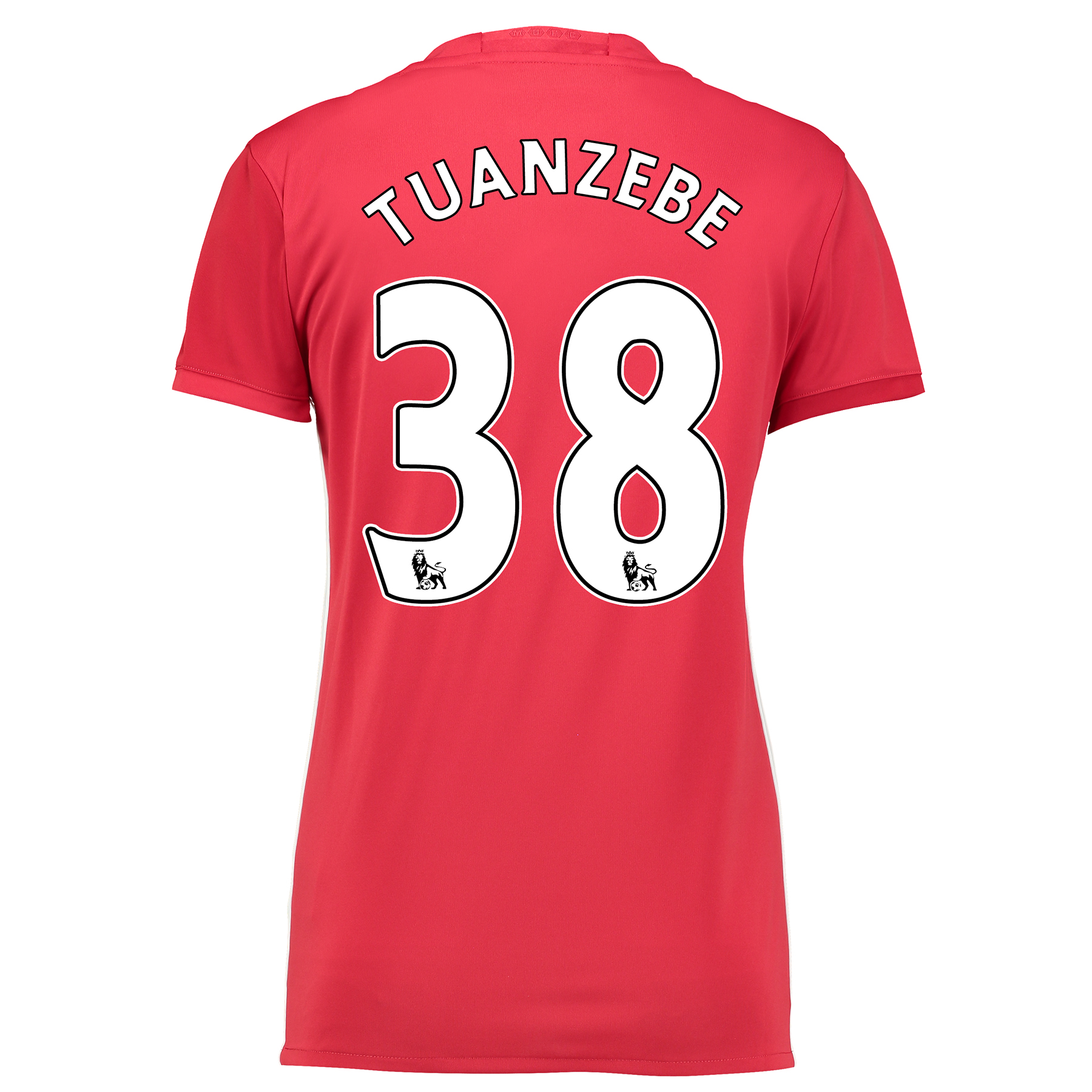 Manchester United Home Shirt 2016-17 - Womens with Tuanzebe 38 printin