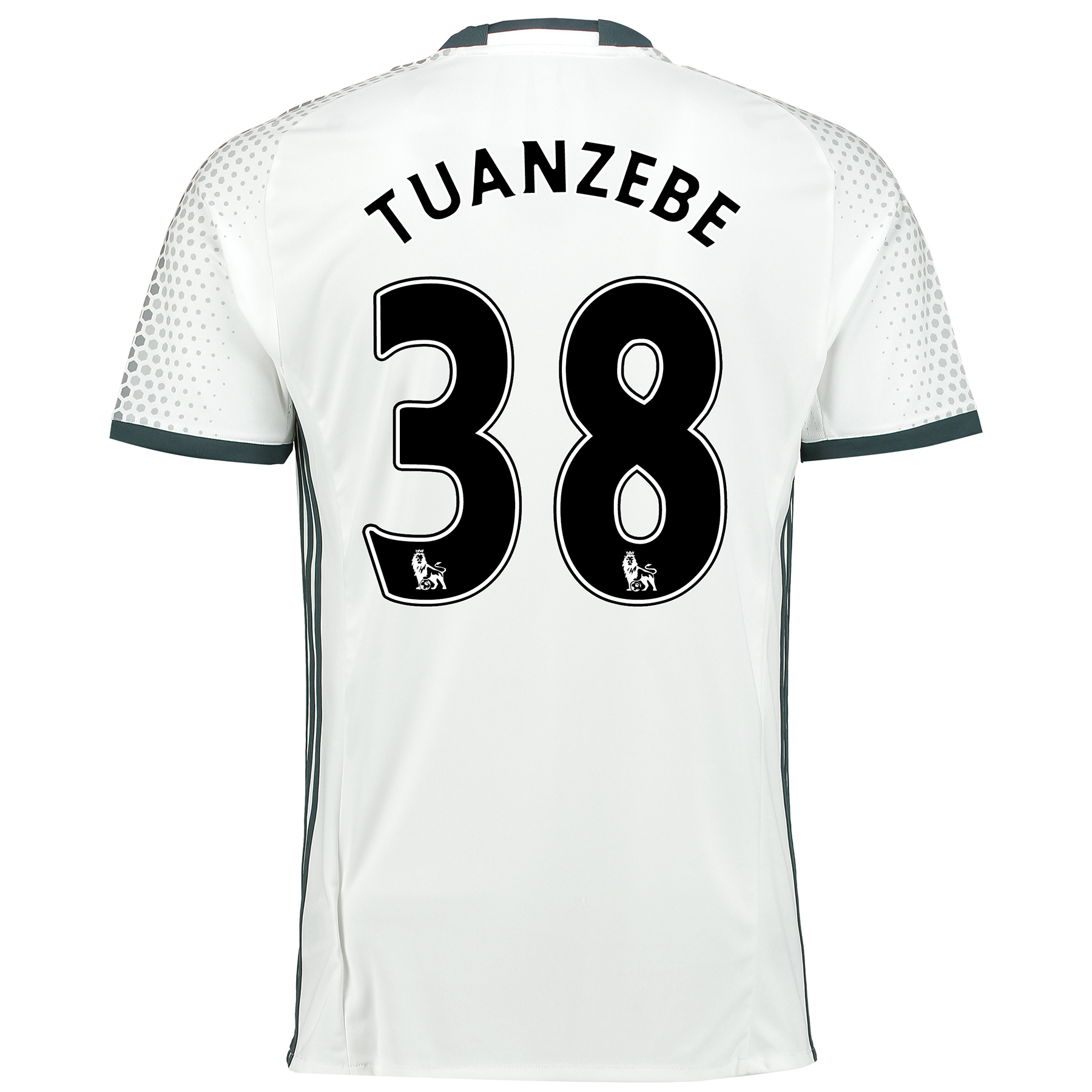 Manchester United Third Shirt 2016-17 with Tuanzebe 38 printing