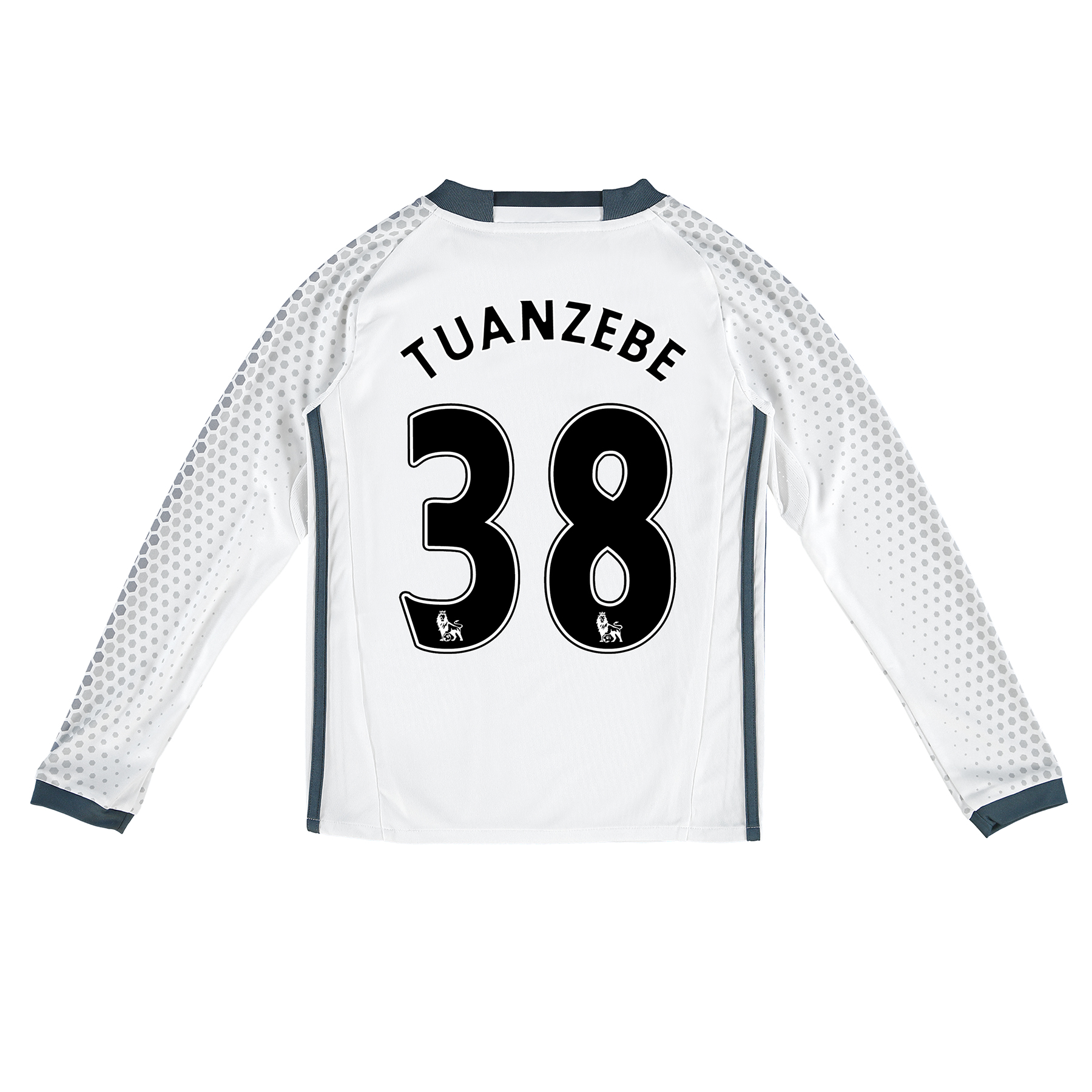 Manchester United Third Shirt 2016-17 - Kids - Long Sleeve with Tuanze