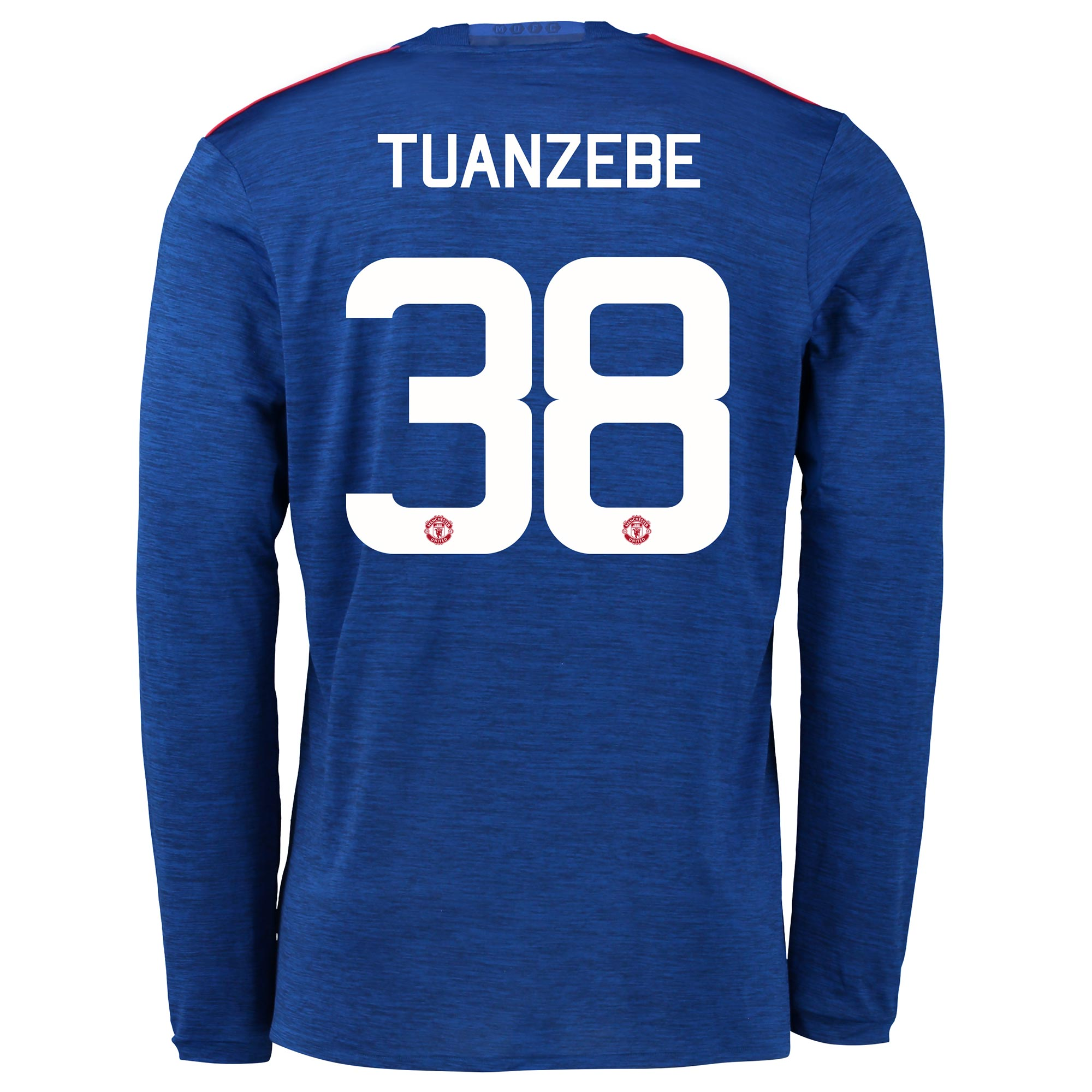 Manchester United Away Cup Shirt 2016-17 - Long Sleeve with Tuanzebe 3