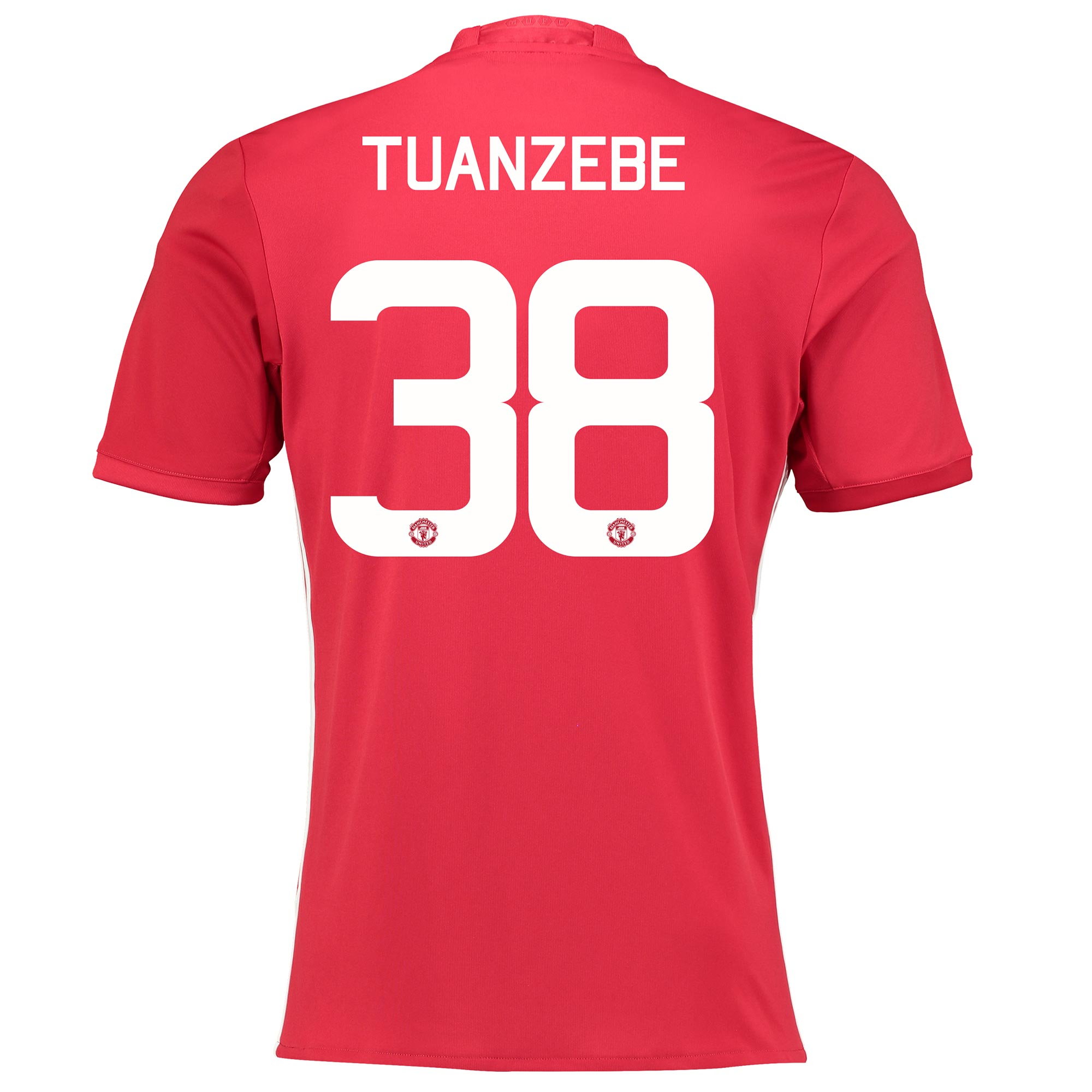 Manchester United Home Cup Shirt 2016-17 with Tuanzebe 38 printing