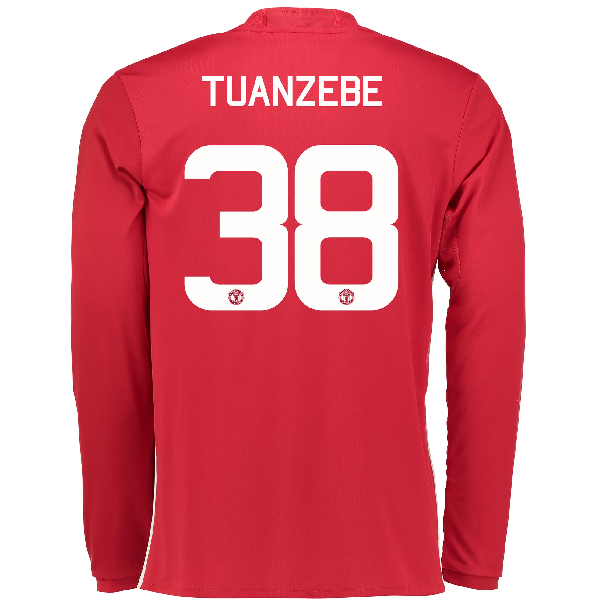 Manchester United Home Cup Shirt 2016-17 - Long Sleeve with Tuanzebe 3