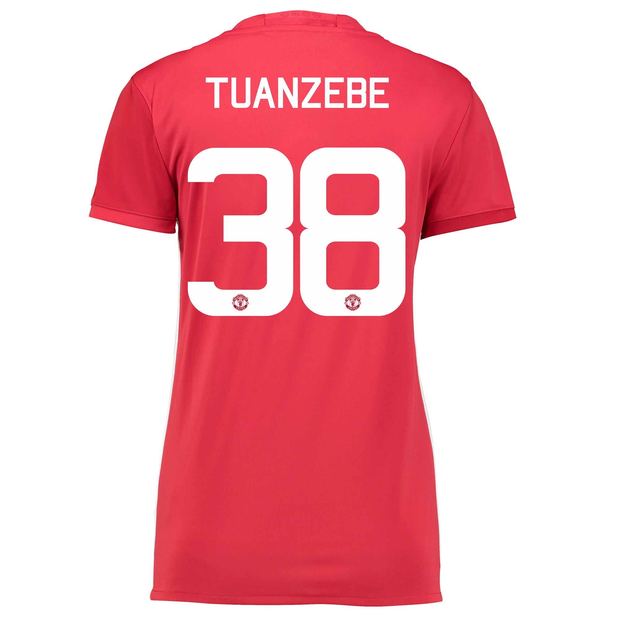 Manchester United Home Cup Shirt 2016-17 - Womens with Tuanzebe 38 pri
