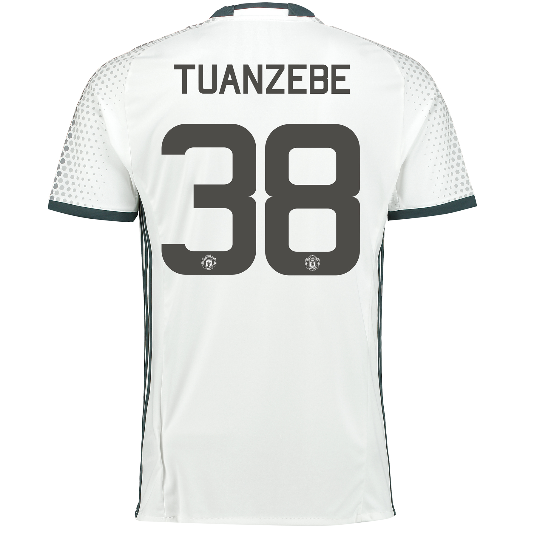 Manchester United Third Cup Shirt 2016-17 with Tuanzebe 38 printing