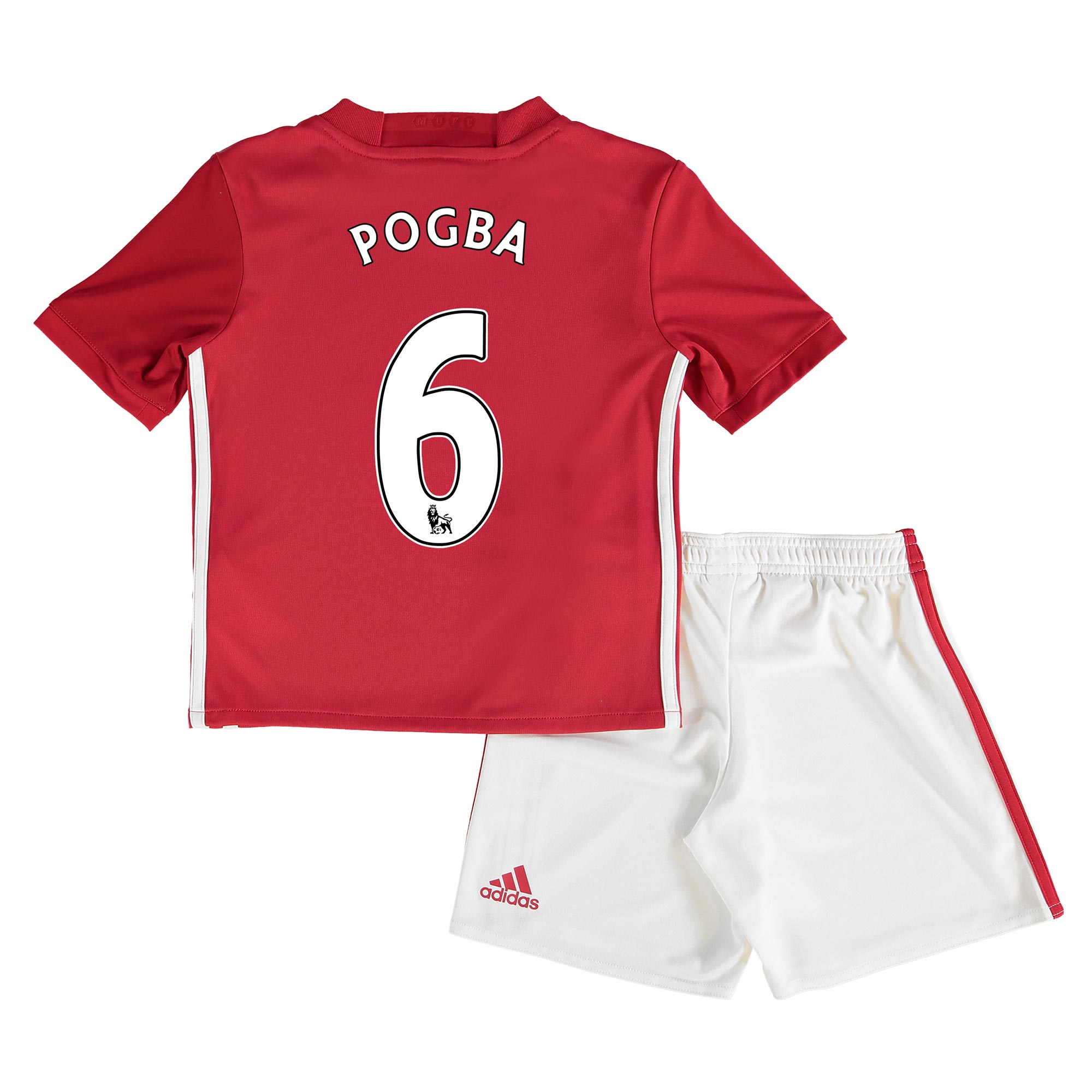 Manchester United Home Mini Kit 2016-17 with Pogba 6 printing