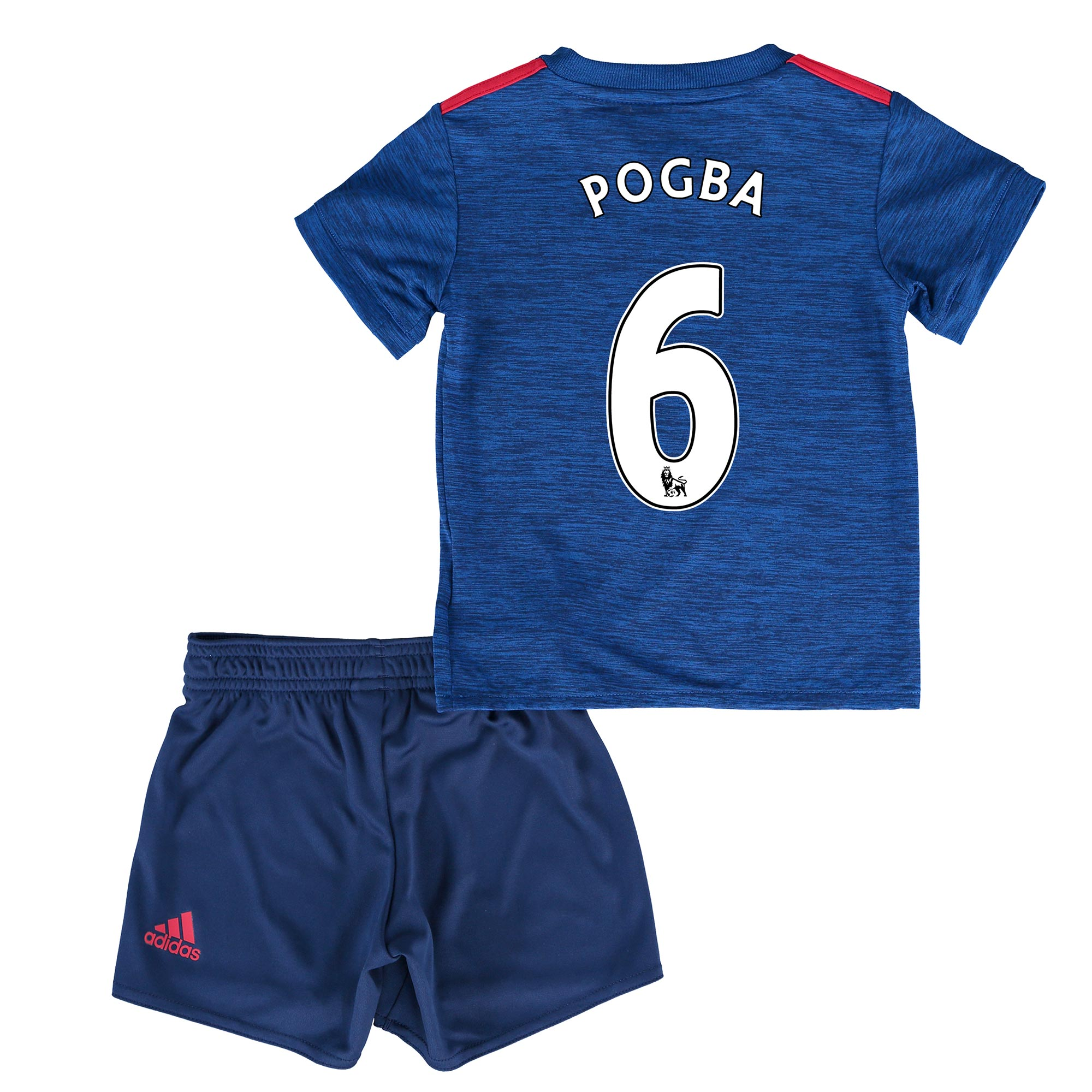 Manchester United Away Baby Kit 2016-17 with Pogba 6 printing