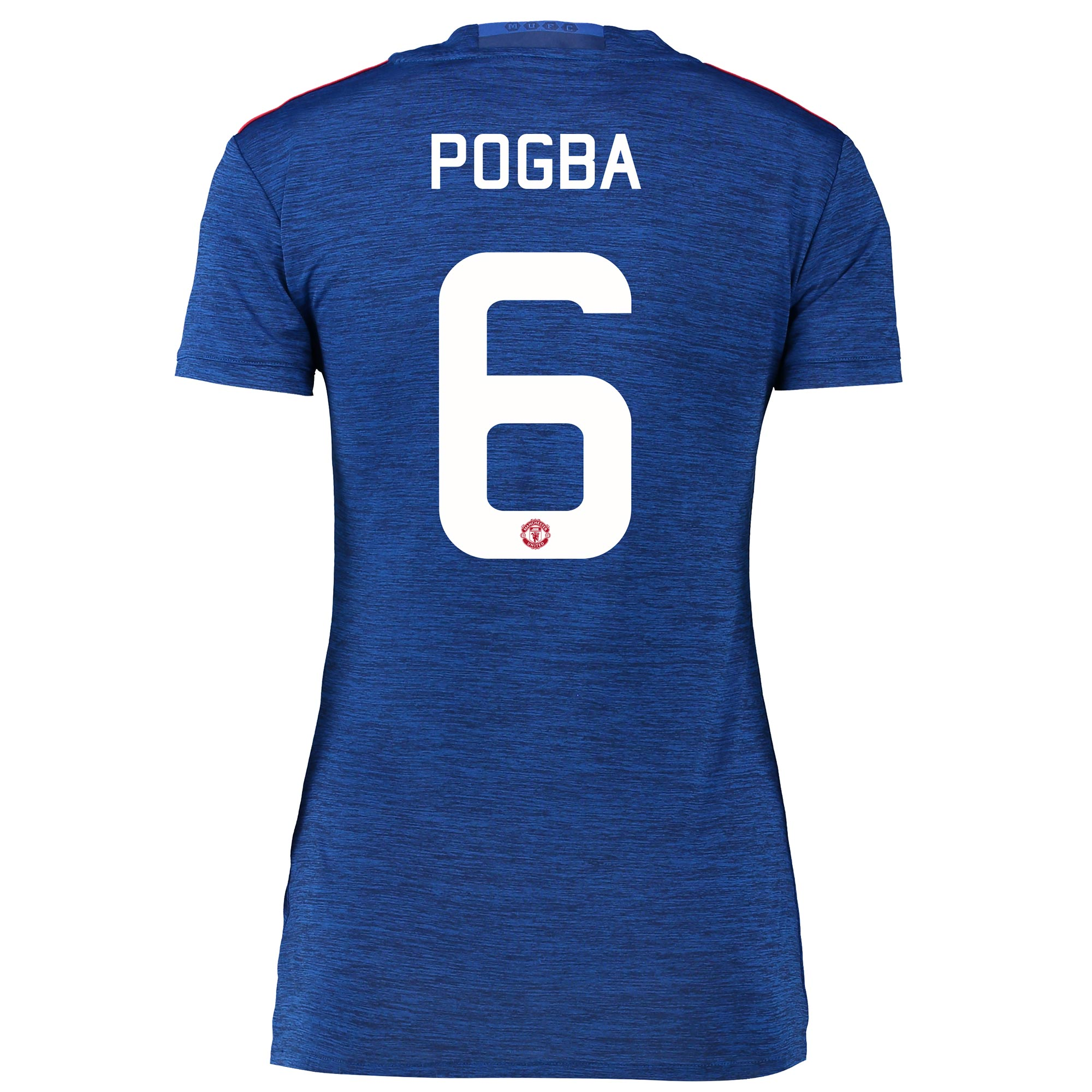 Manchester United Cup Away Shirt 2016-17 - Womens with Pogba 6 printin