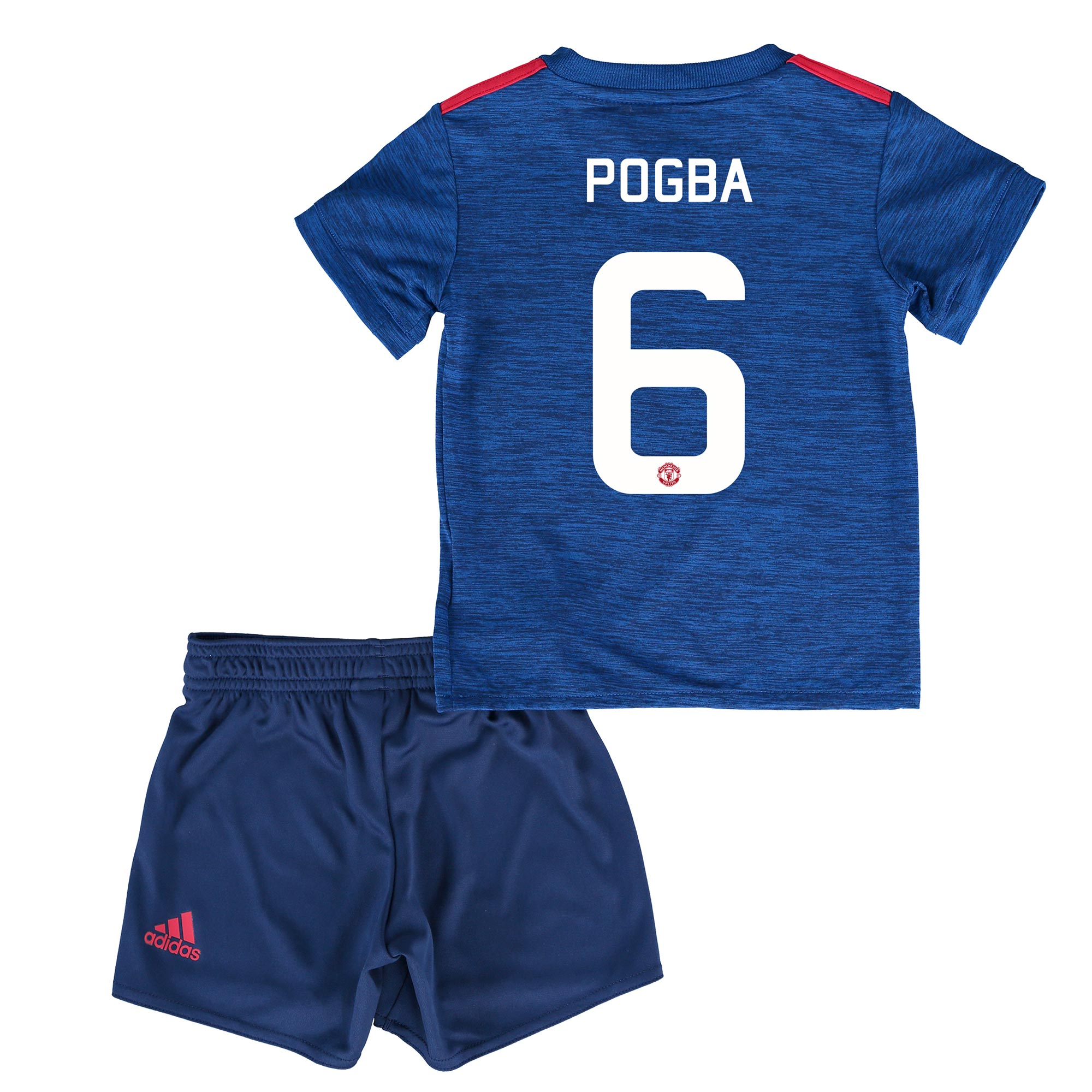 Manchester United Cup Away Baby Kit 2016-17 with Pogba 6 printing
