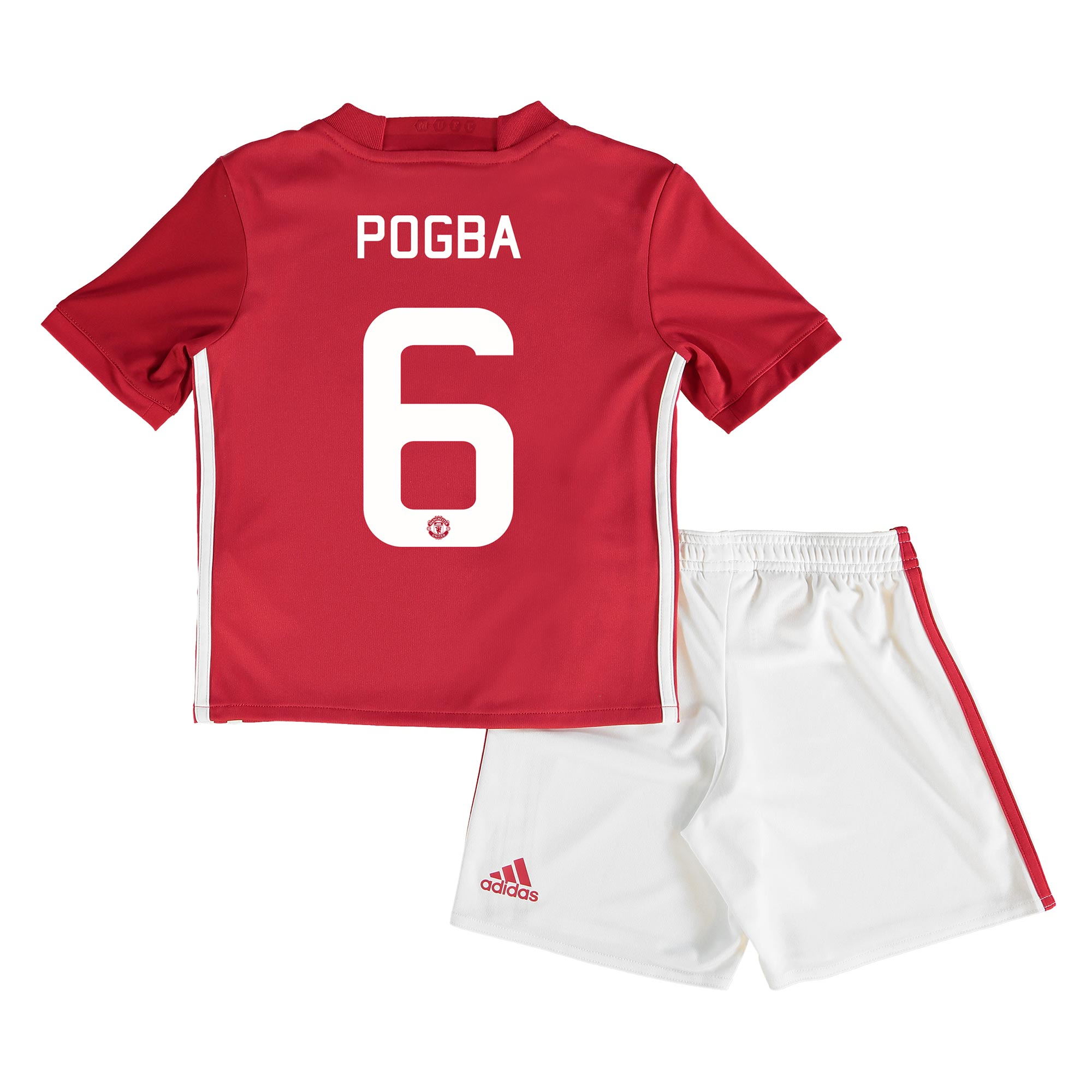 Manchester United Cup Home Mini Kit 2016-17 with Pogba 6 printing