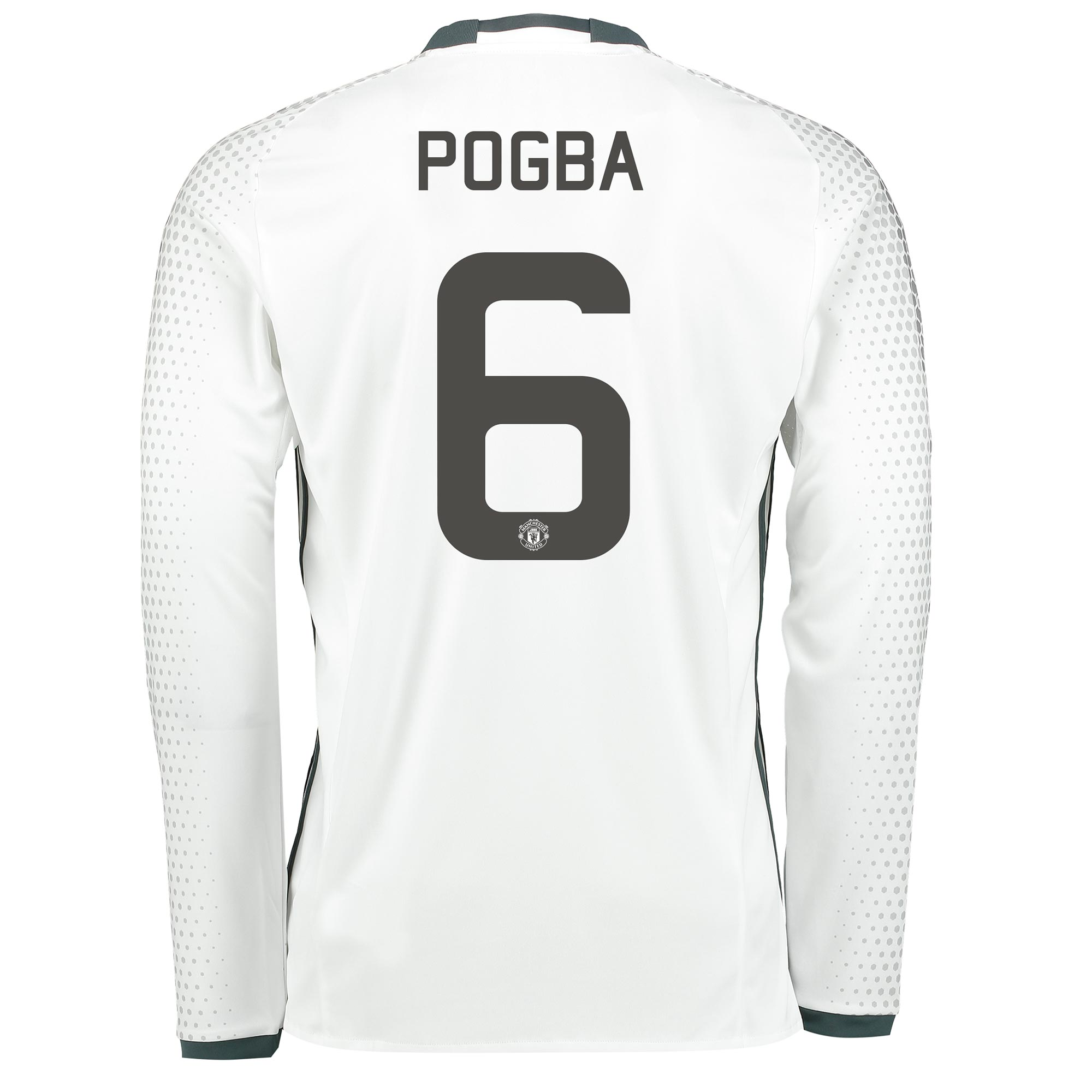 Manchester United Cup Third Shirt 2016-17 - Long Sleeve with Pogba 6 p